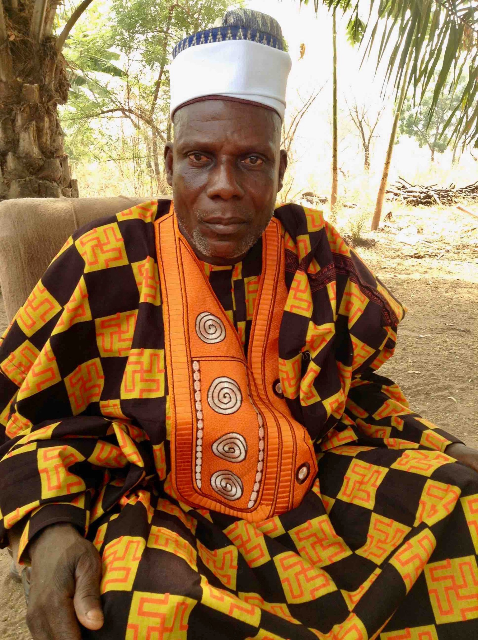 Wakili (King) of Langa Langa Village, Sunday Alu, Nasarawa State, Nigeria. #JujuFilms