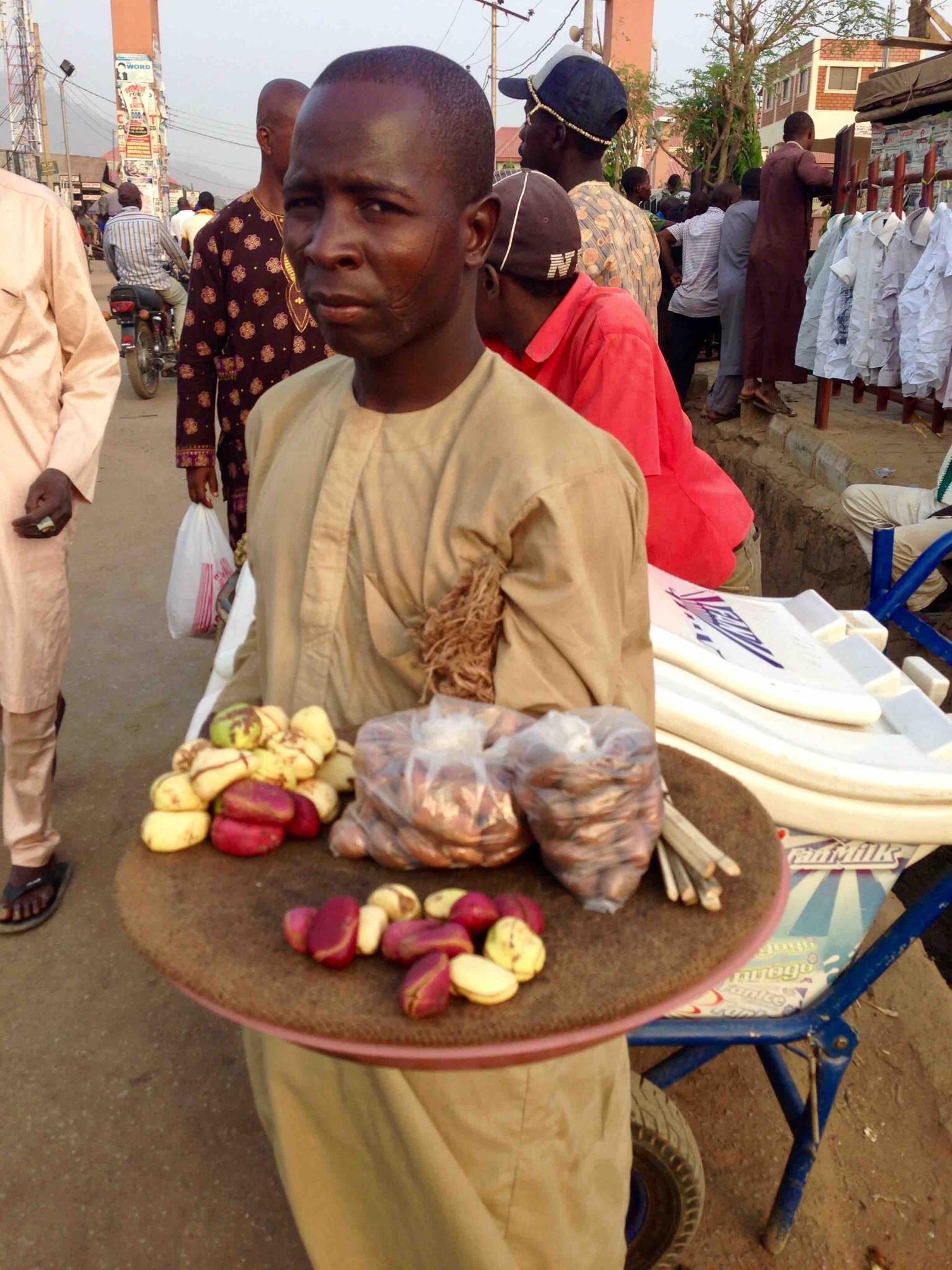 Kola nut hawker, Dutse Alhaji, FCT, Abuja, Nigeria. #JujuFilms