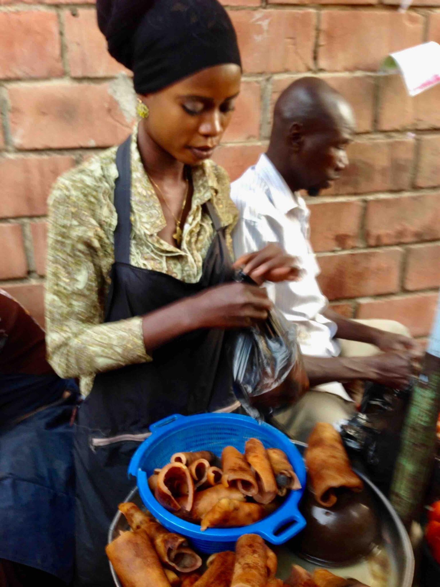 Latifah, Pomo seller, Dutse Market, Dutse, FCT, Abuja, Nigeria. #JujuFilms