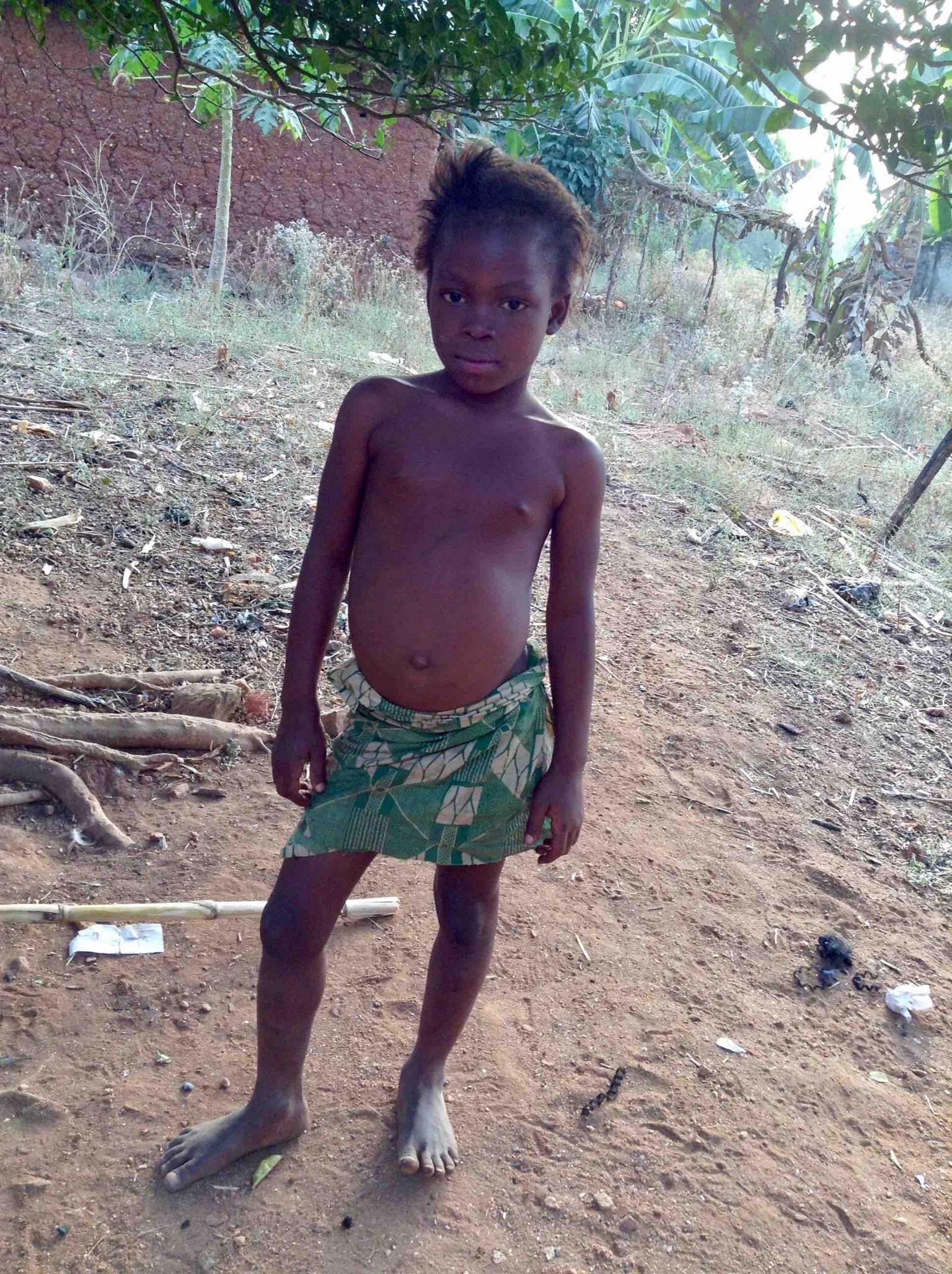 Eggon Girl, Langa Langa Village, Nasarawa State, Nigeria. #JujuFilms