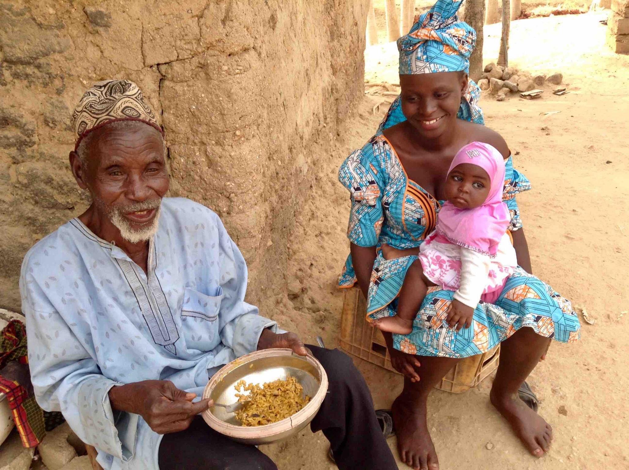 Fulani family, Langa Langa Village, Nasarawa State, Nigeria. #JujuFilms
