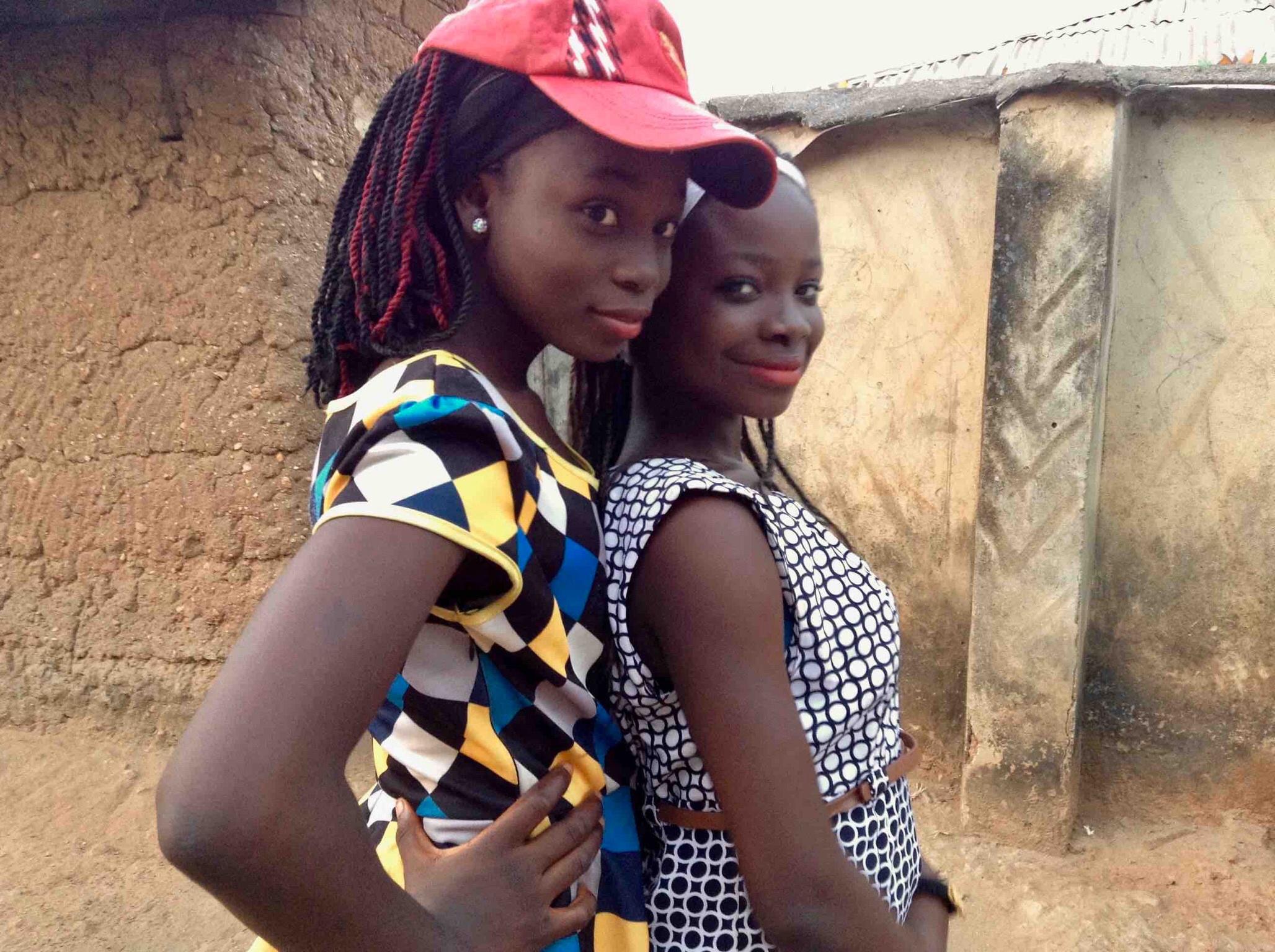 Eggon and Lendere (Wamba) girls, Langa Langa Village, Nasarawa State, Nigeria. #JujuFilms