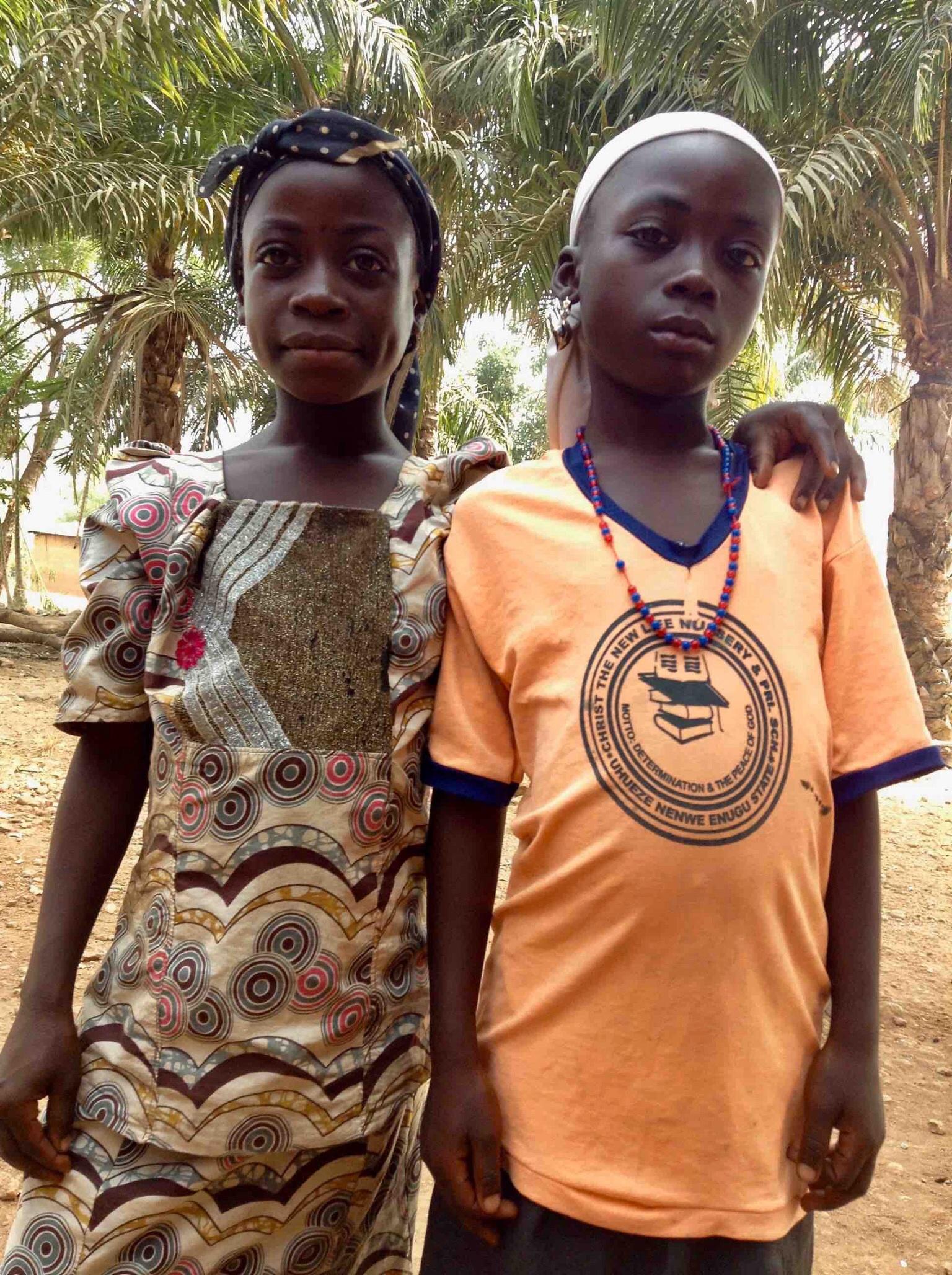 Eggon sisters in Langa Langa Village, Nasarawa State, Nigeria. #JujuFilms