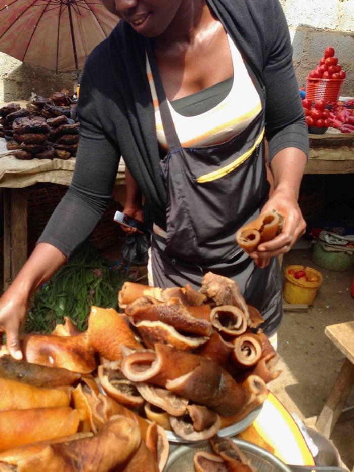 Pomo seller Sadiah, Dutse Market, Dutse, Nigeria #JujuFilms