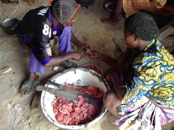 Village Kitchen, Langa Langa Village, Nasarawa State, Nigeria #JujuFilms
