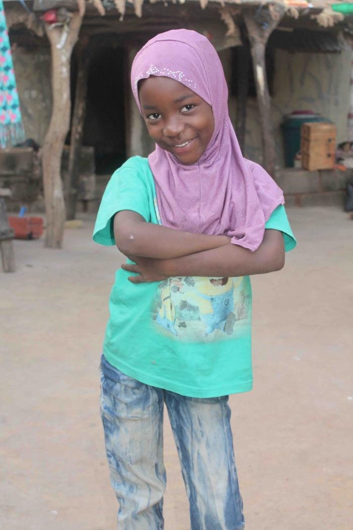 Eggon girl, Lami, in Langa Langa Village, Nasarawa State, Nigeria #JujuFilms