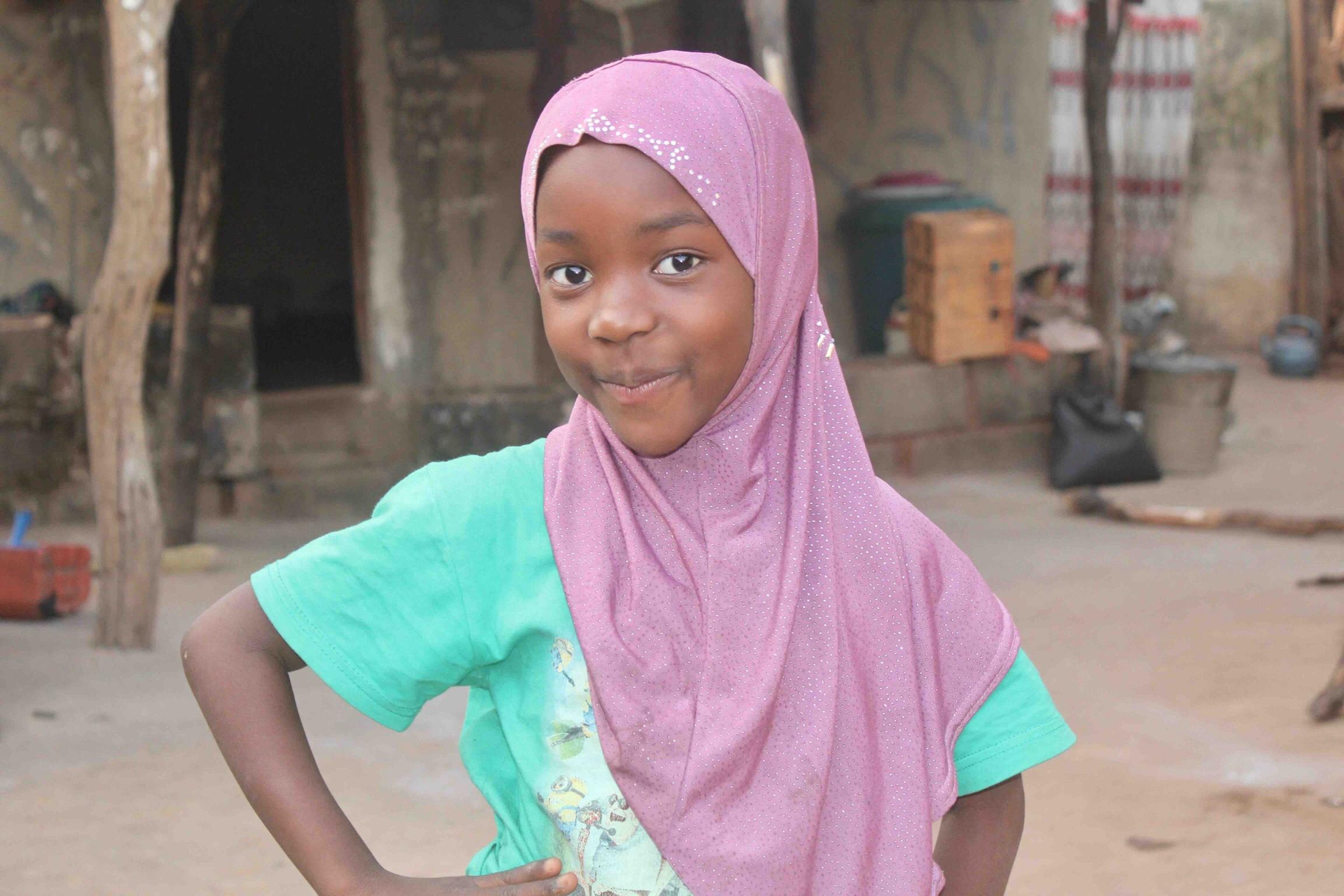 Lendere (Wamba) girl, Lami, in Langa Langa Village, Nasarawa State, Nigeria #JujuFilms