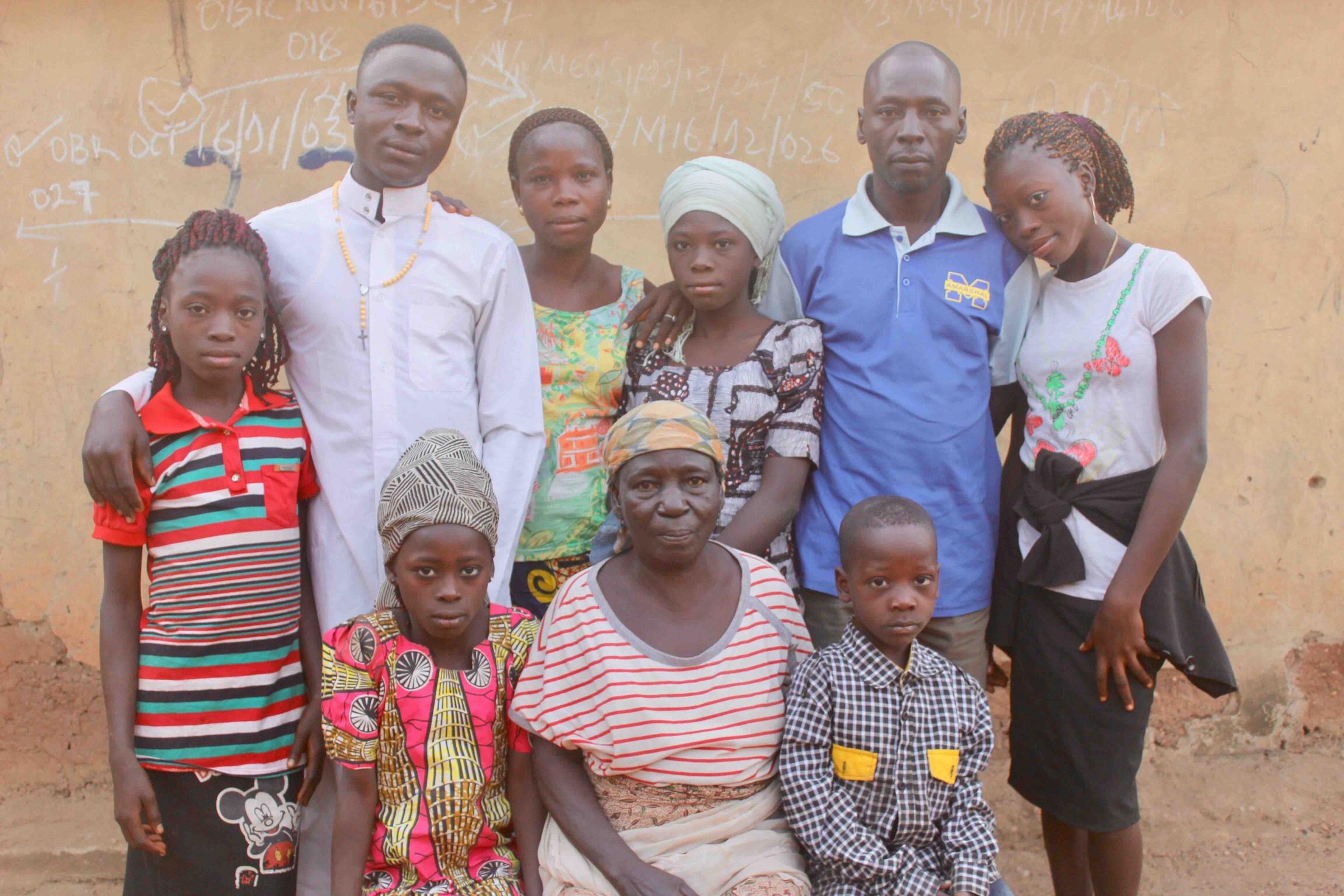 Bajju family in Langa Langa Viillage, Nasarawa State, Nigeria #JujuFilms
