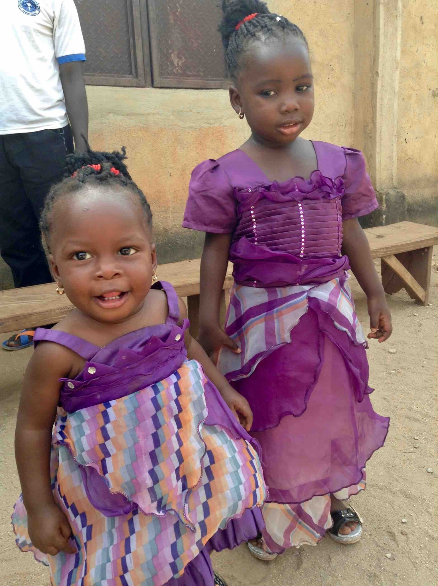 Eggon children, Langa Langa Village, Nasarawa State, Nigeria #JujuFilms