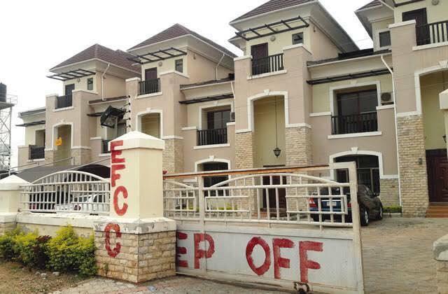 Alhaja Obanikoro's seized property in Abuja, Nigeria