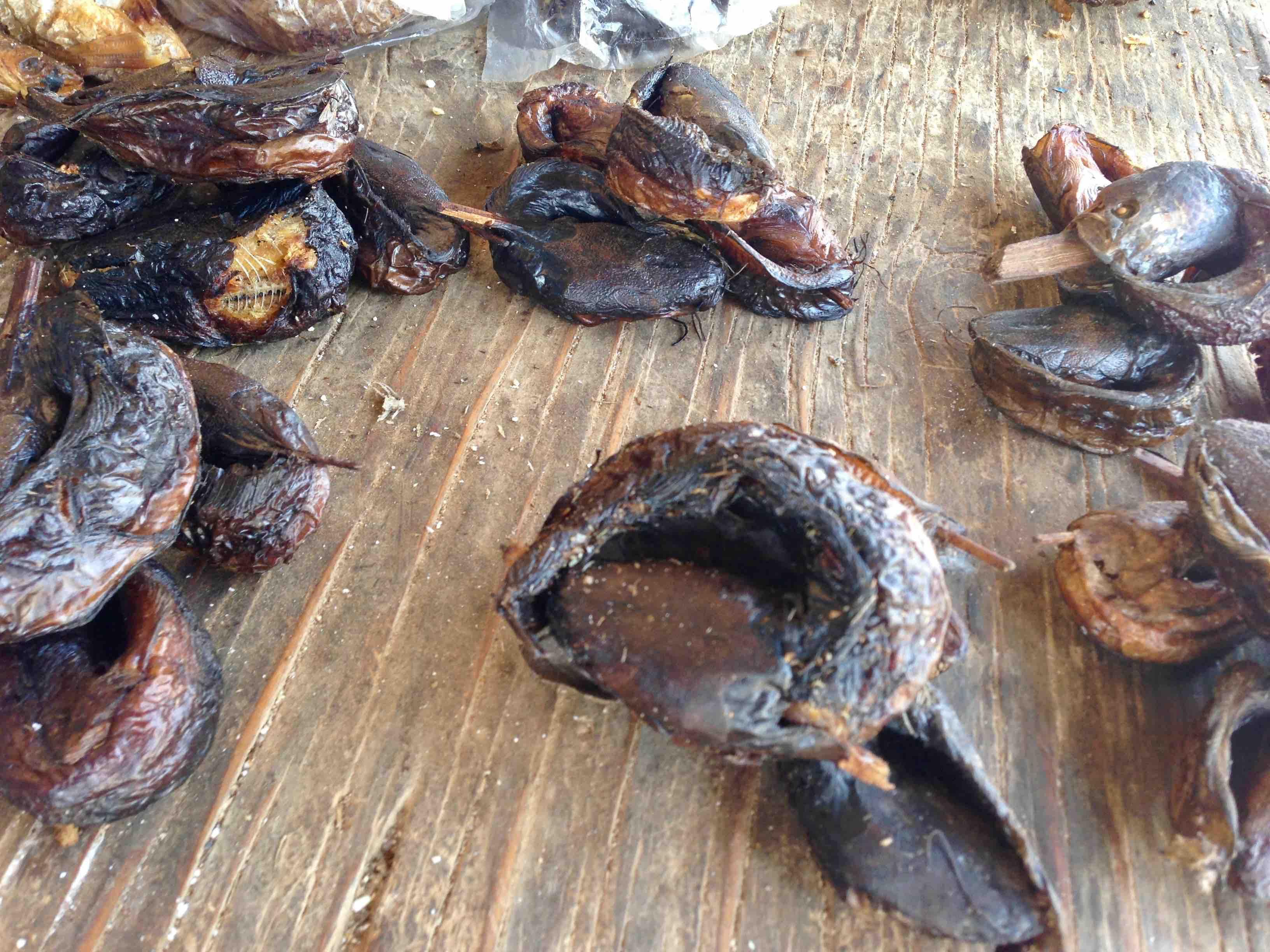 Smoked fish, Ushafa Village, Abuja, Nigeria. #JujuFilms