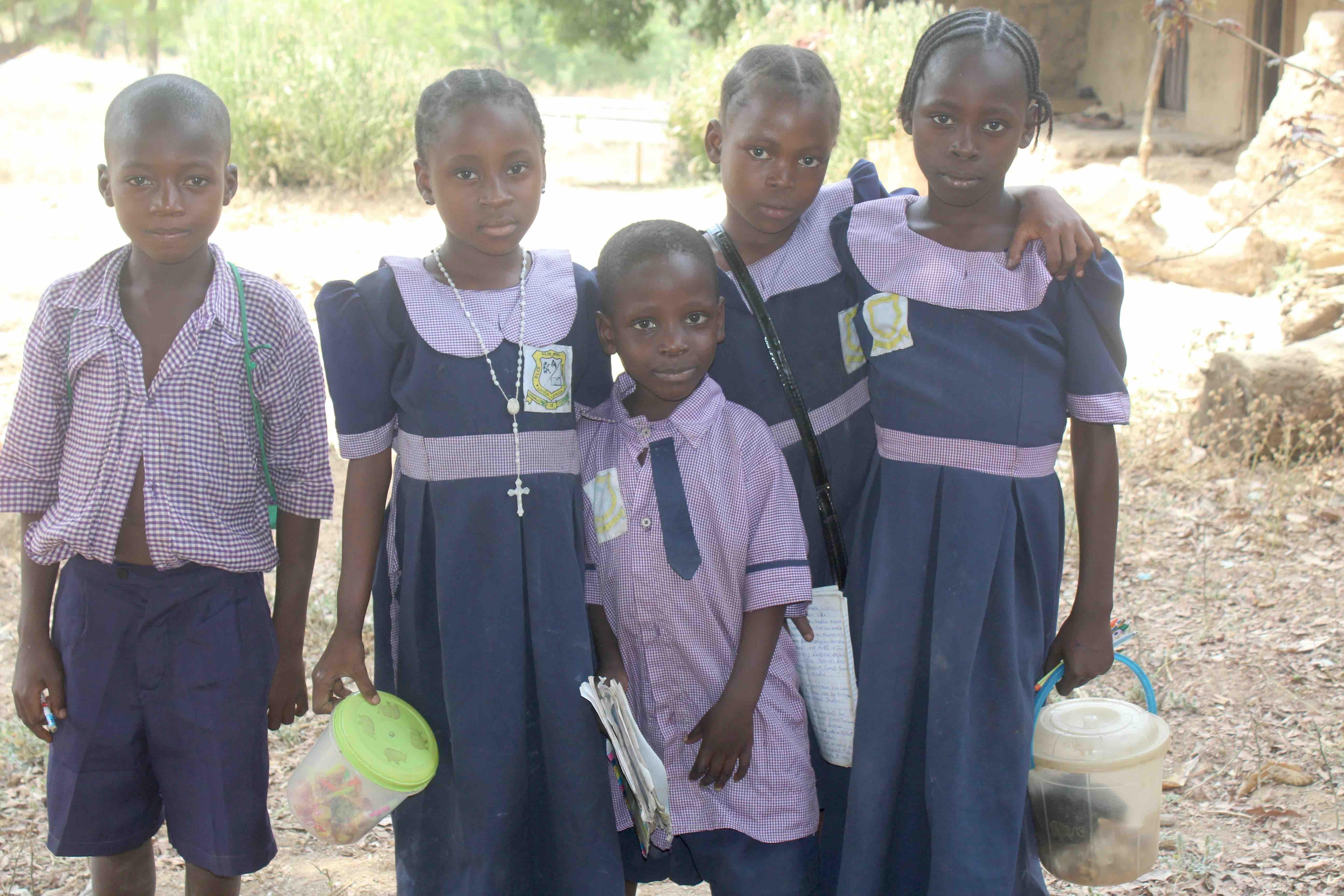 School children in Langa Langa Village, Nasarawa State, Nigeria. #JujuFilms