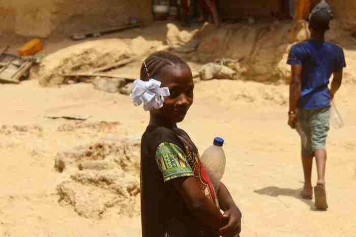 School girl in Langa Langa Village, Nasarawa State, Nigeria. #JujuFilms