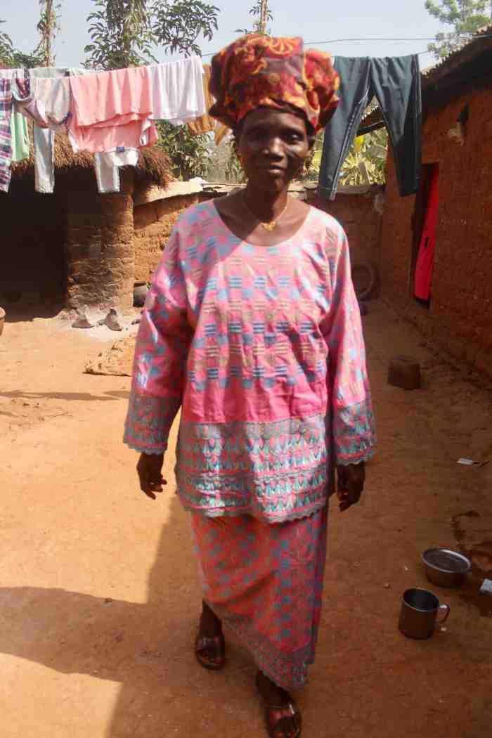 Asibi Gambo, Eggon woman in Langa Langa Village, Nasarawa State, Nigeria #JujuFilms