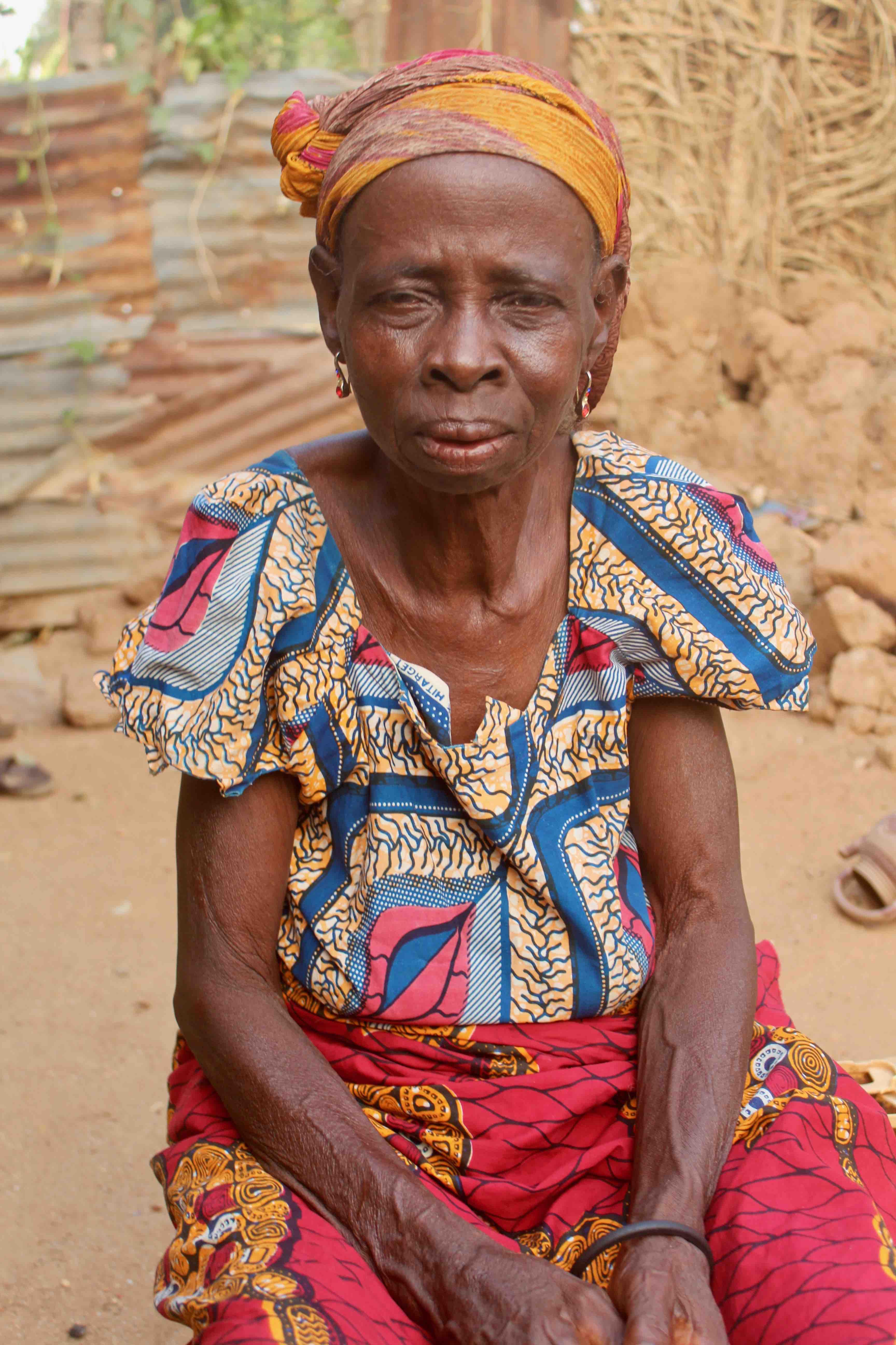 Eggon woman in Langa Langa Village, Nasarawa State, Nigeria. #JujuFilms