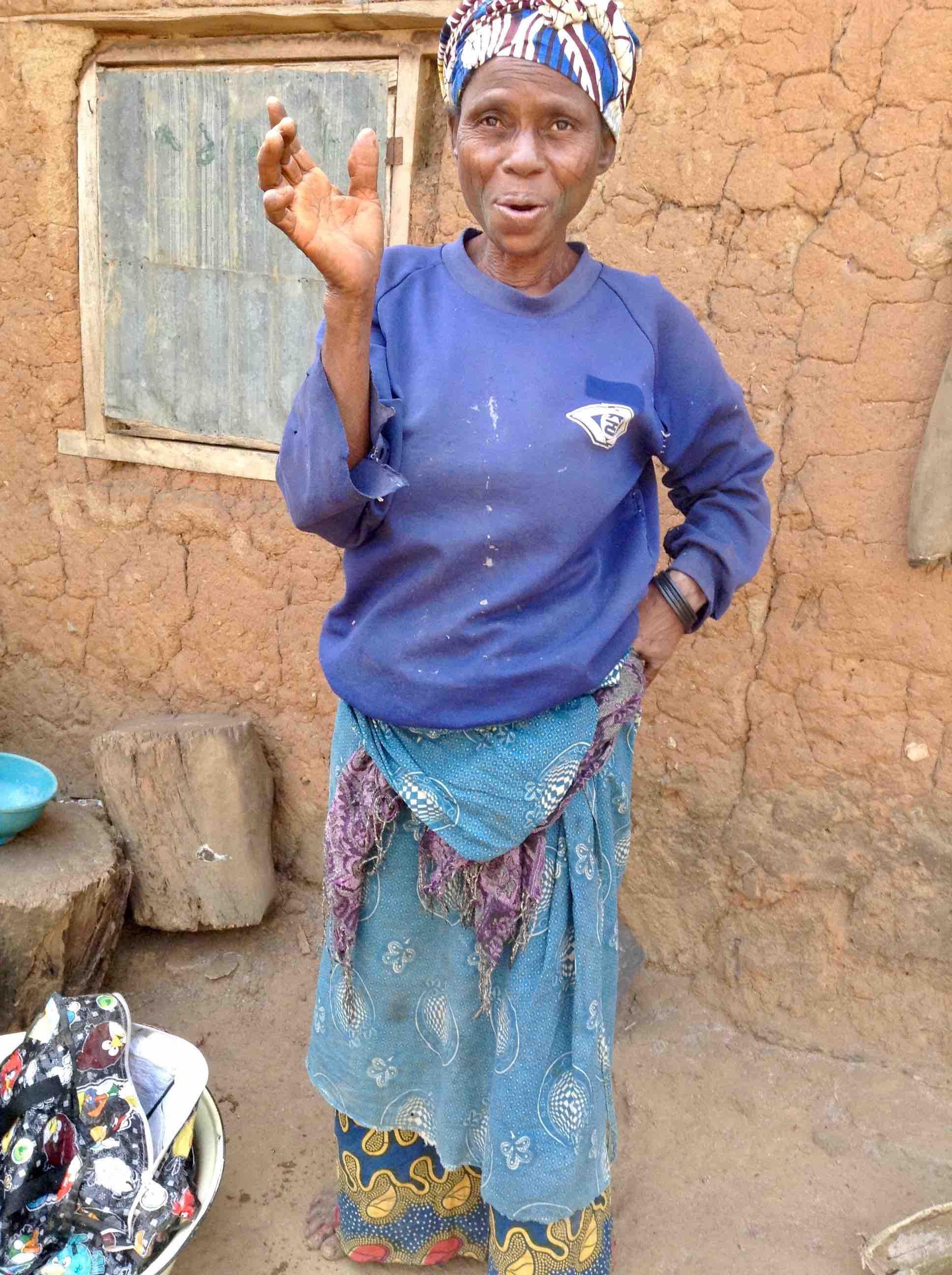 Akpowu Aliu, Eggon Woman in Langa Langa Village, Nasarawa State, Nigeria #JujuFilms