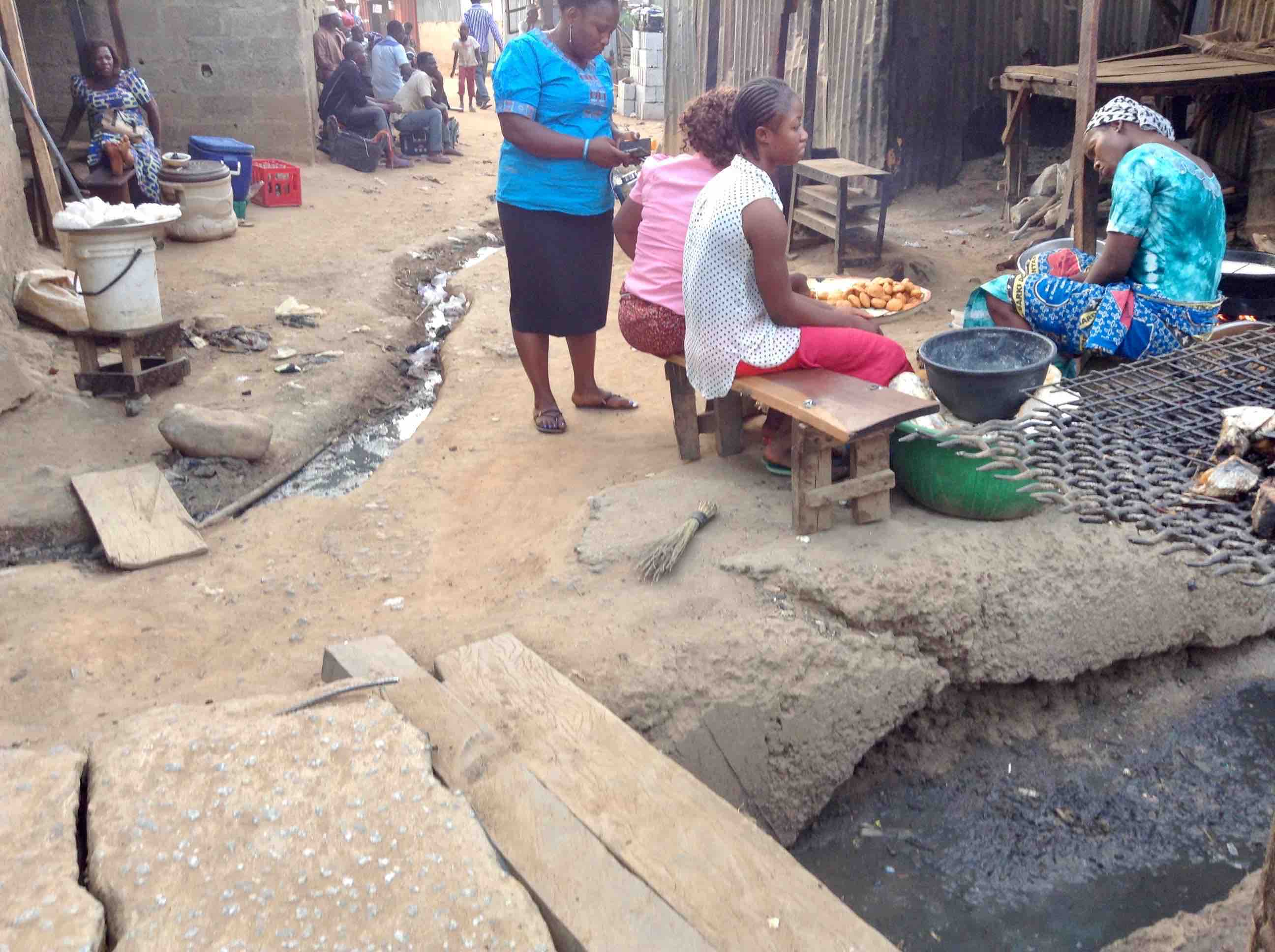 Village Market Scene, Ushafa Village, Abuja, Nigeria #JujuFilms