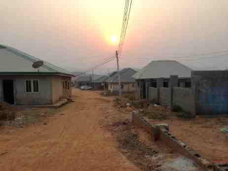 Sunset over Ushafa Village, Abuja, Nigeria #JujuFilms