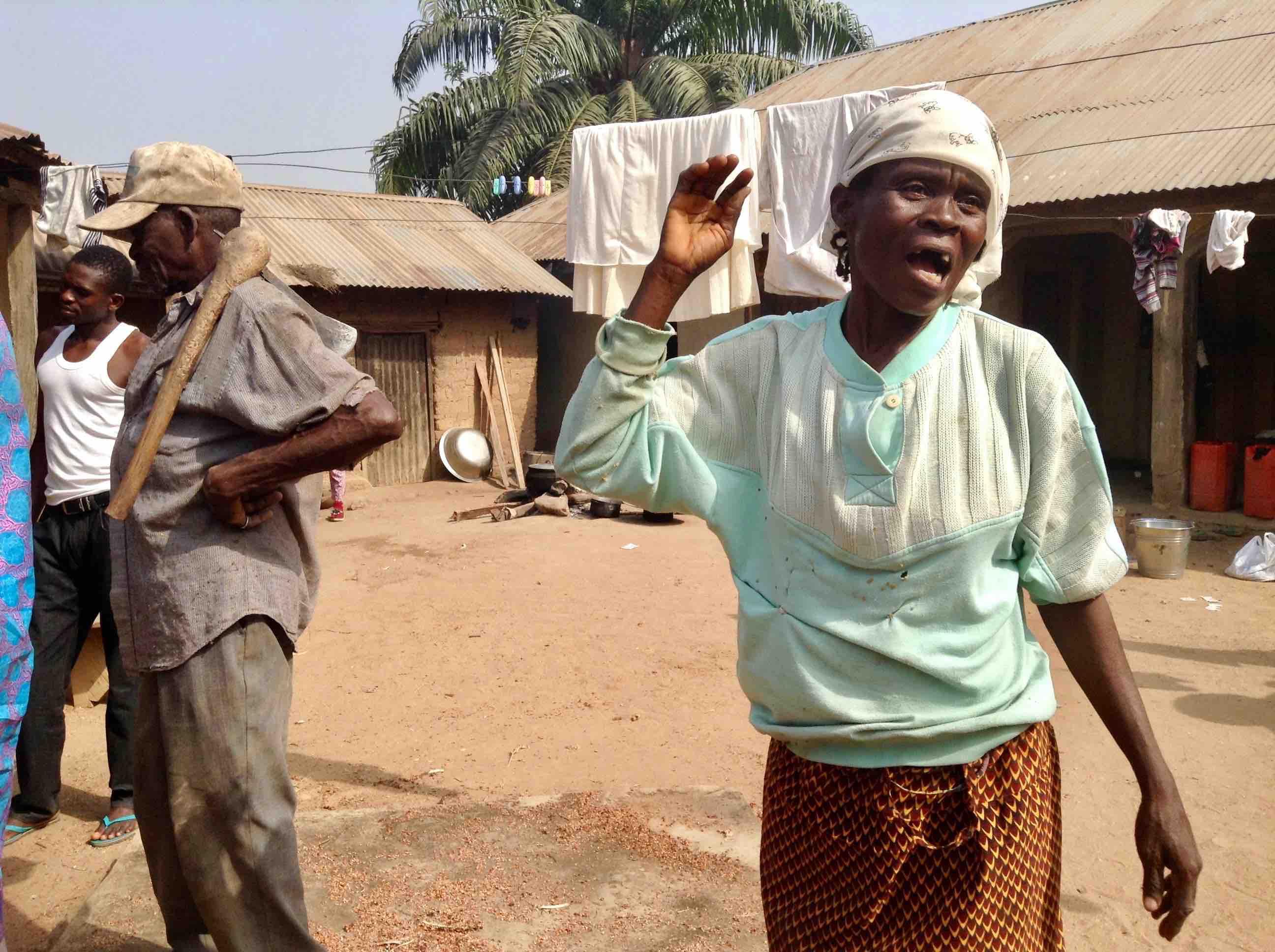 Yaye Solomon, Eggon Woman, Langa Langa Village, Nasarawa State, Nigeria. #JujuFilms