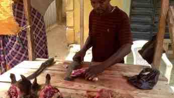 Ushafa Village goat meat butcher, Ushafa Village, Abuja, Nigeria #JujuFilms