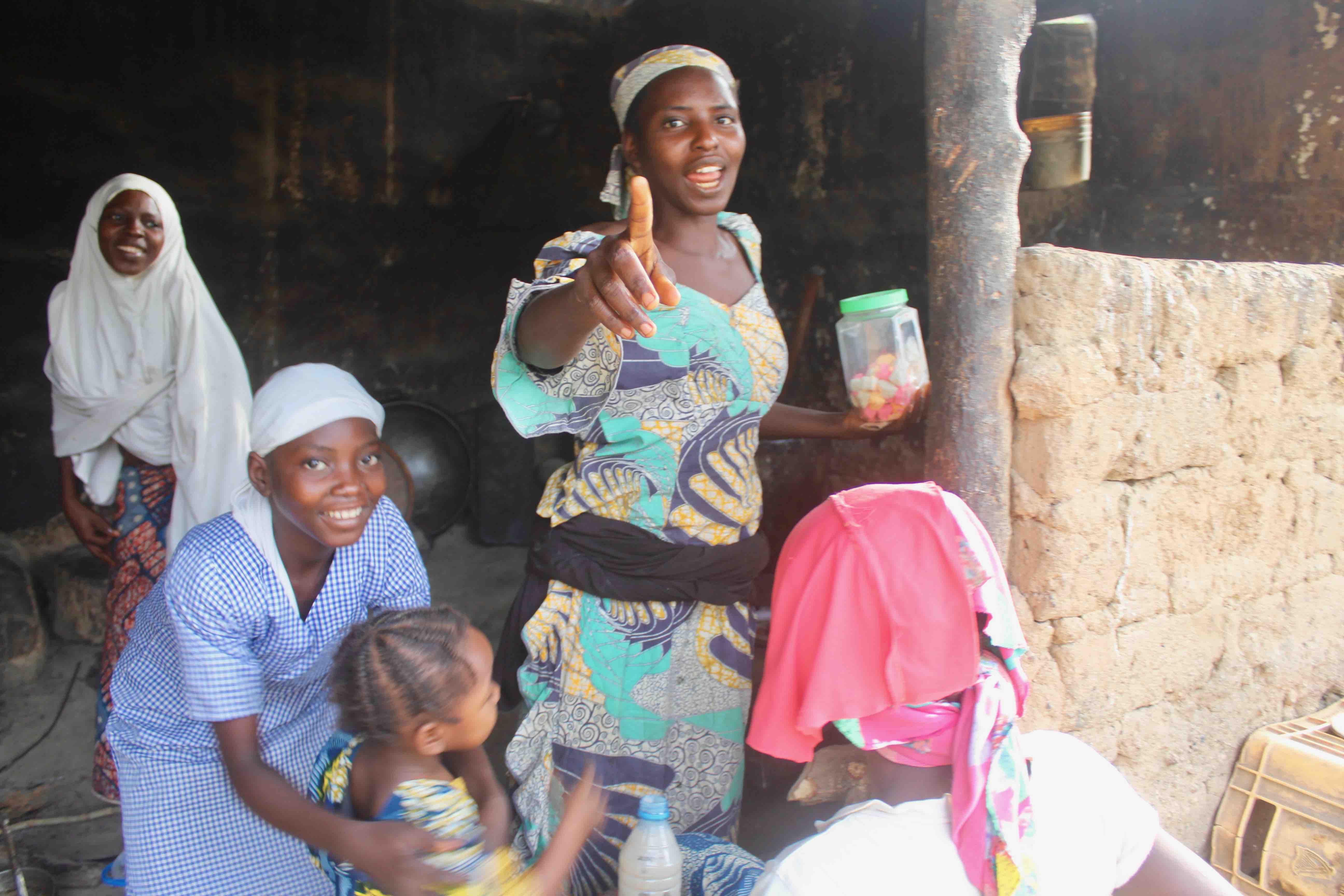 Hausa-Fulani Girls, Langa Langa Village, Nasarawa State, Nigeria. #JujuFilms