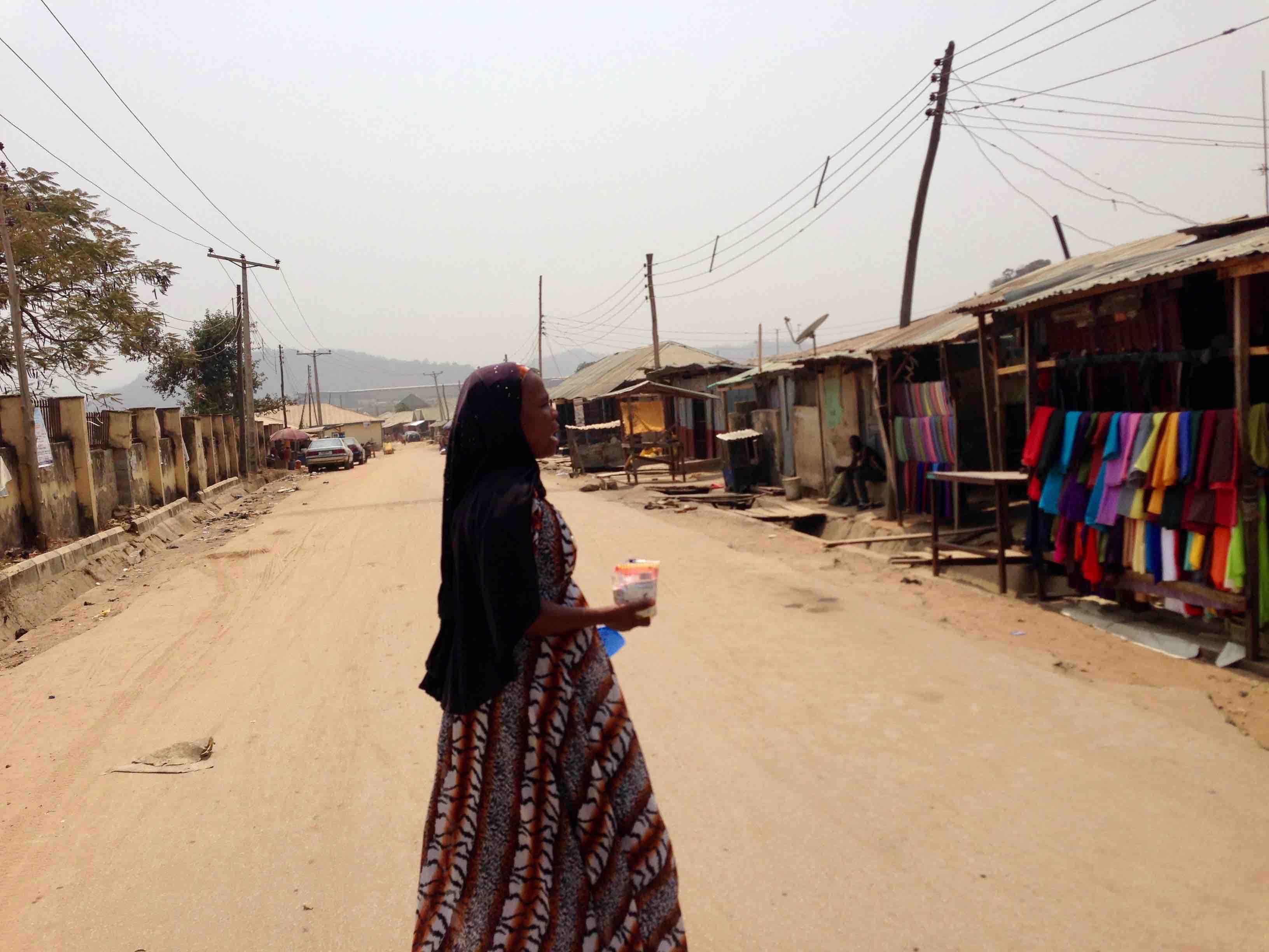 Woman in hijab, Ushafa Village, Abuja, Nigeria. #JujuFilms
