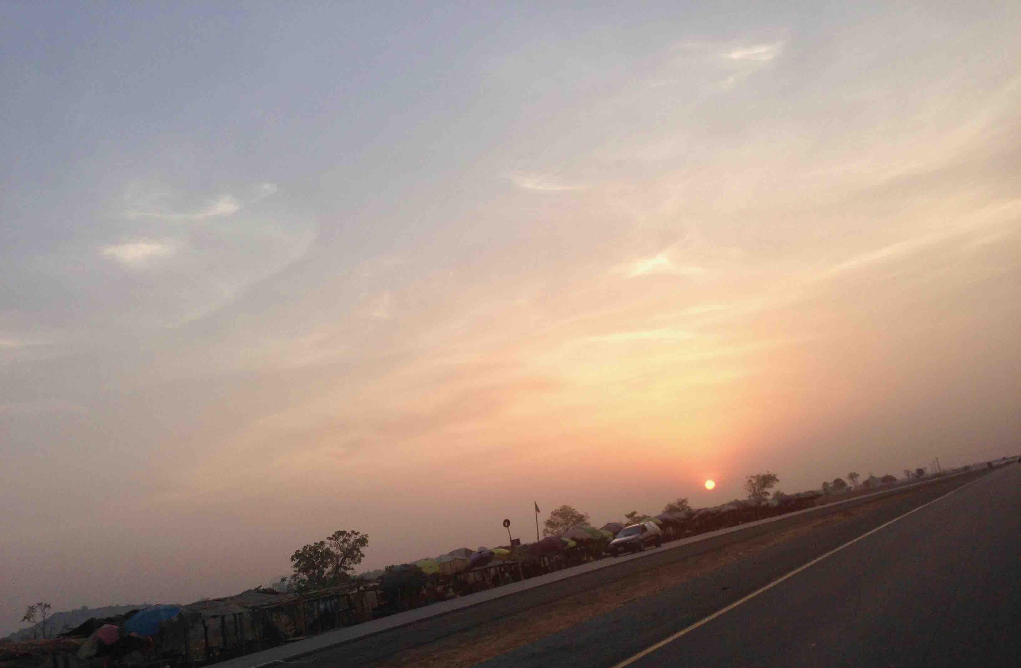 Sunrise, Abuja, Nigeria. #JujuFilms