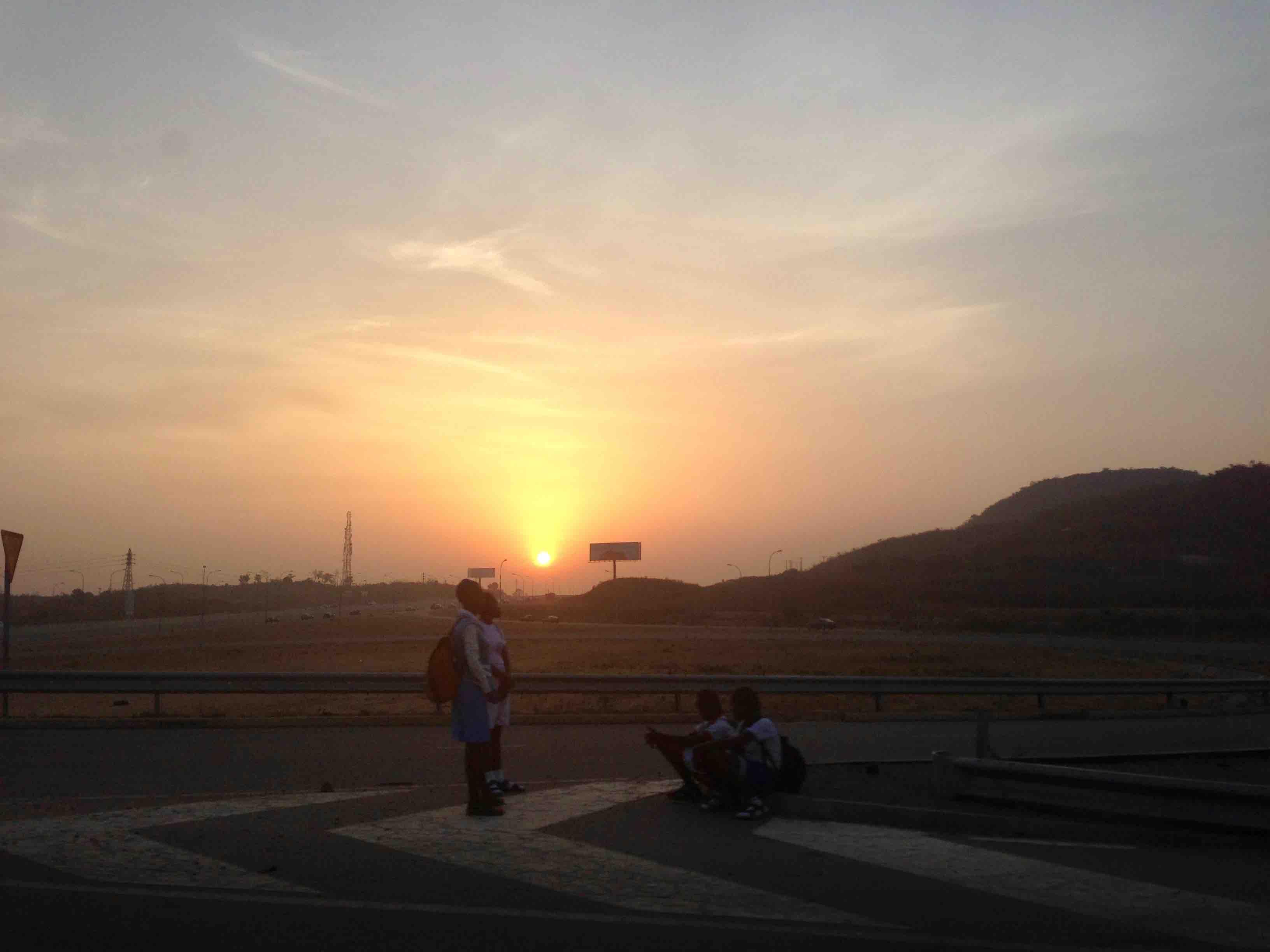 Sunrise over Abuja, Nigeria. #JujuFilms