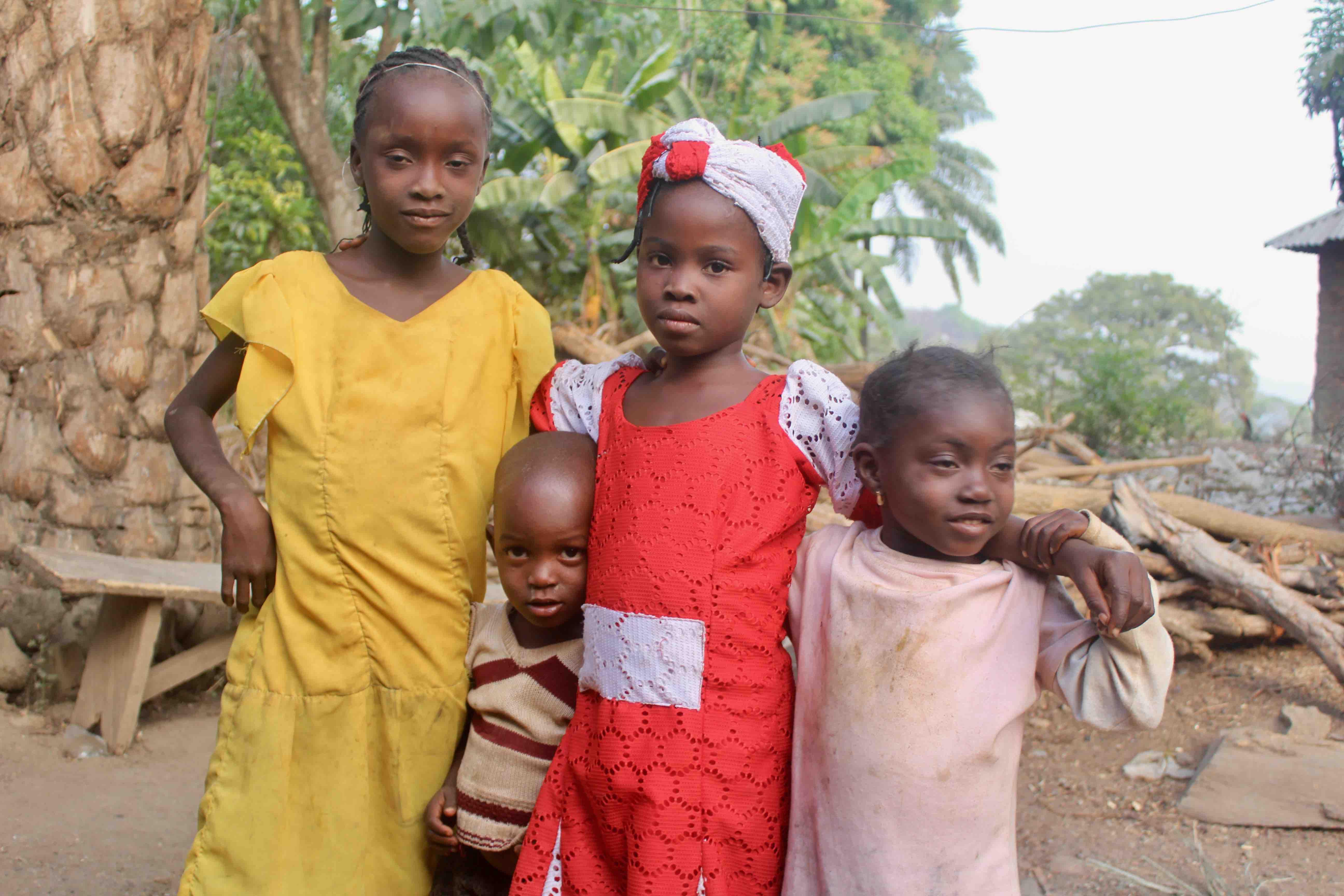 Langa Langa Village Children, Langa Langa Village, Nasarawa State, Nigeria. #JujuFilms