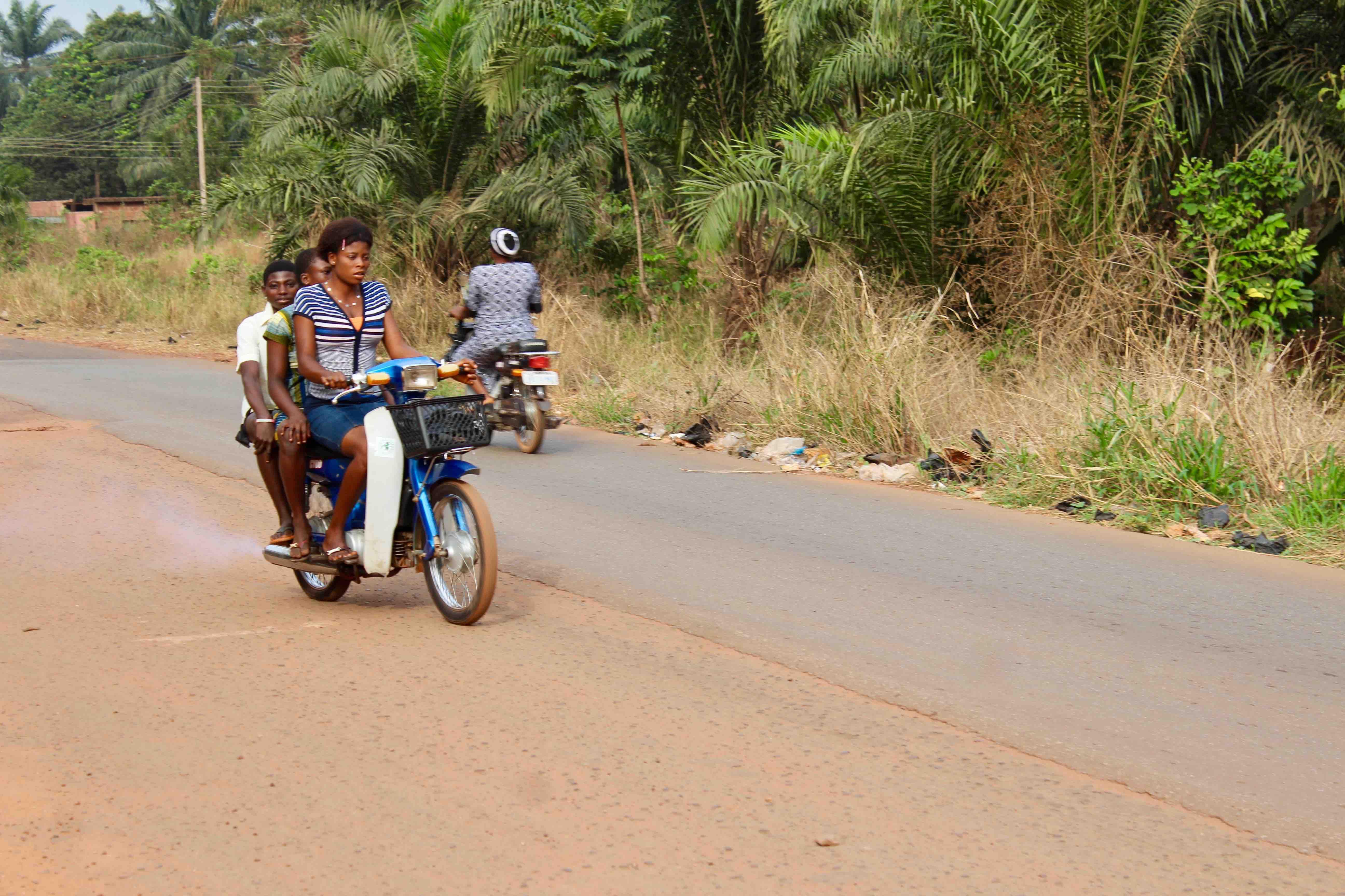 Igbo Girls, Motorcycling, Obolo Village, Enugu State, Nigeria. #JujuFilms