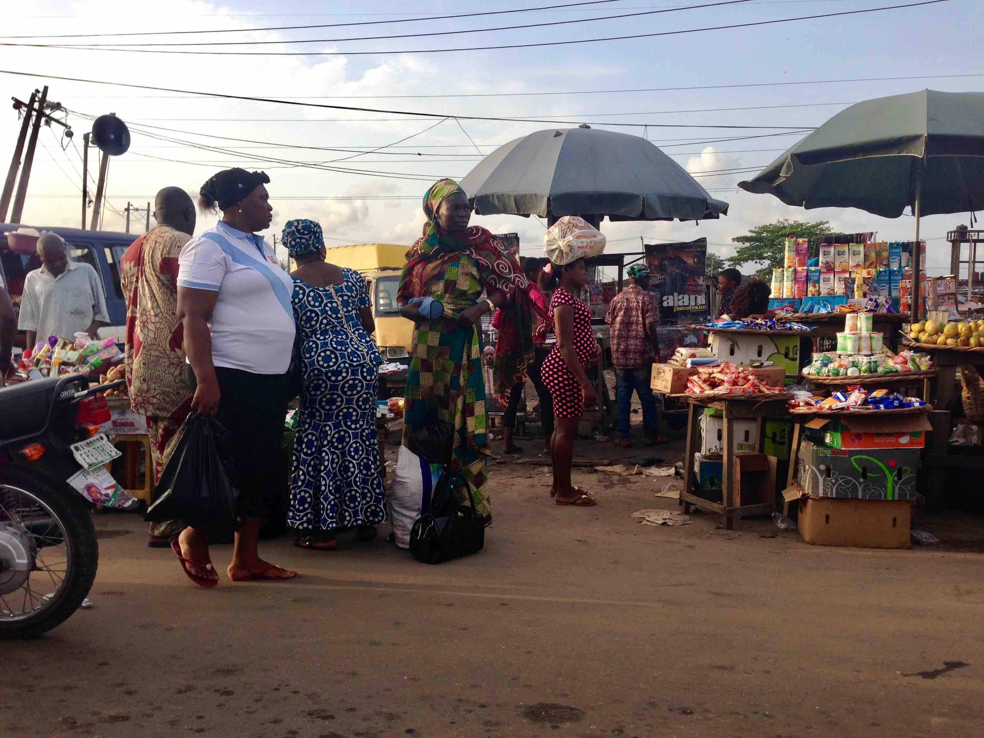 Street Market, Lagos - Badagry Expressway, Lagos State, Nigeria. #JujuFilms