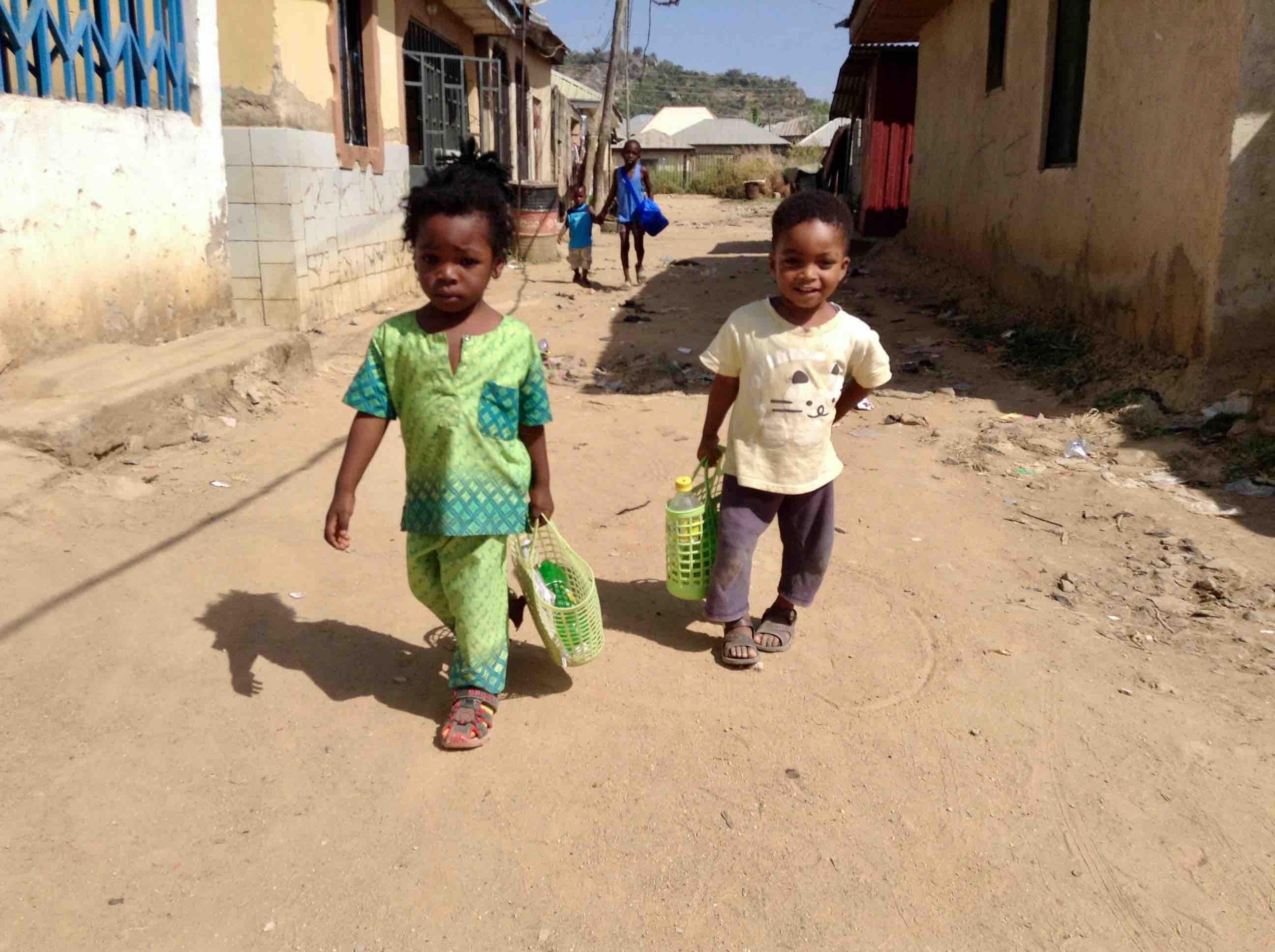 Two young boys, Ushafa Village, Abuja, Nigeria. #JujuFilms