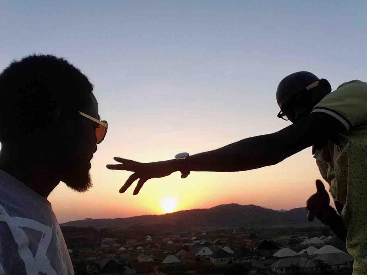 Sunset over Ushafa Village, Abuja, Nigeria. #JujuFilms