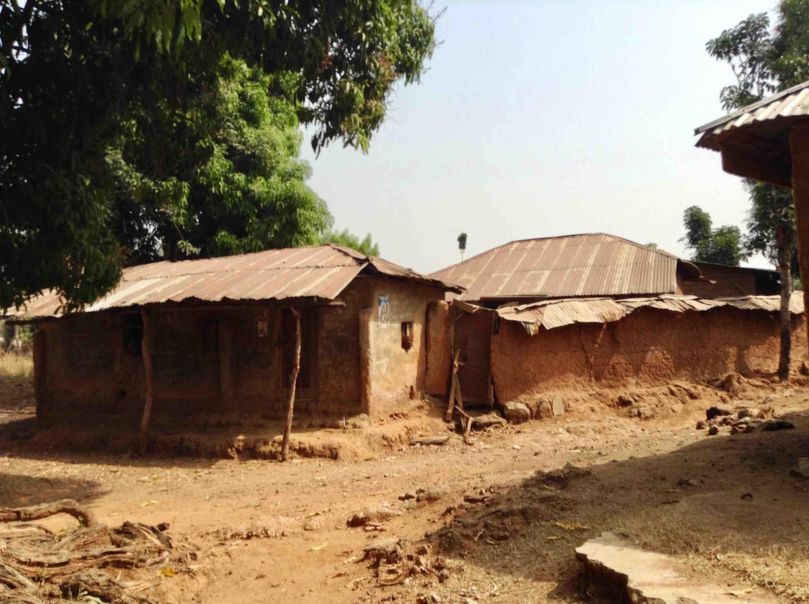 Mud Huts, Langa Langa Village, Nasarawa State, Nigeria. #JujuFilms