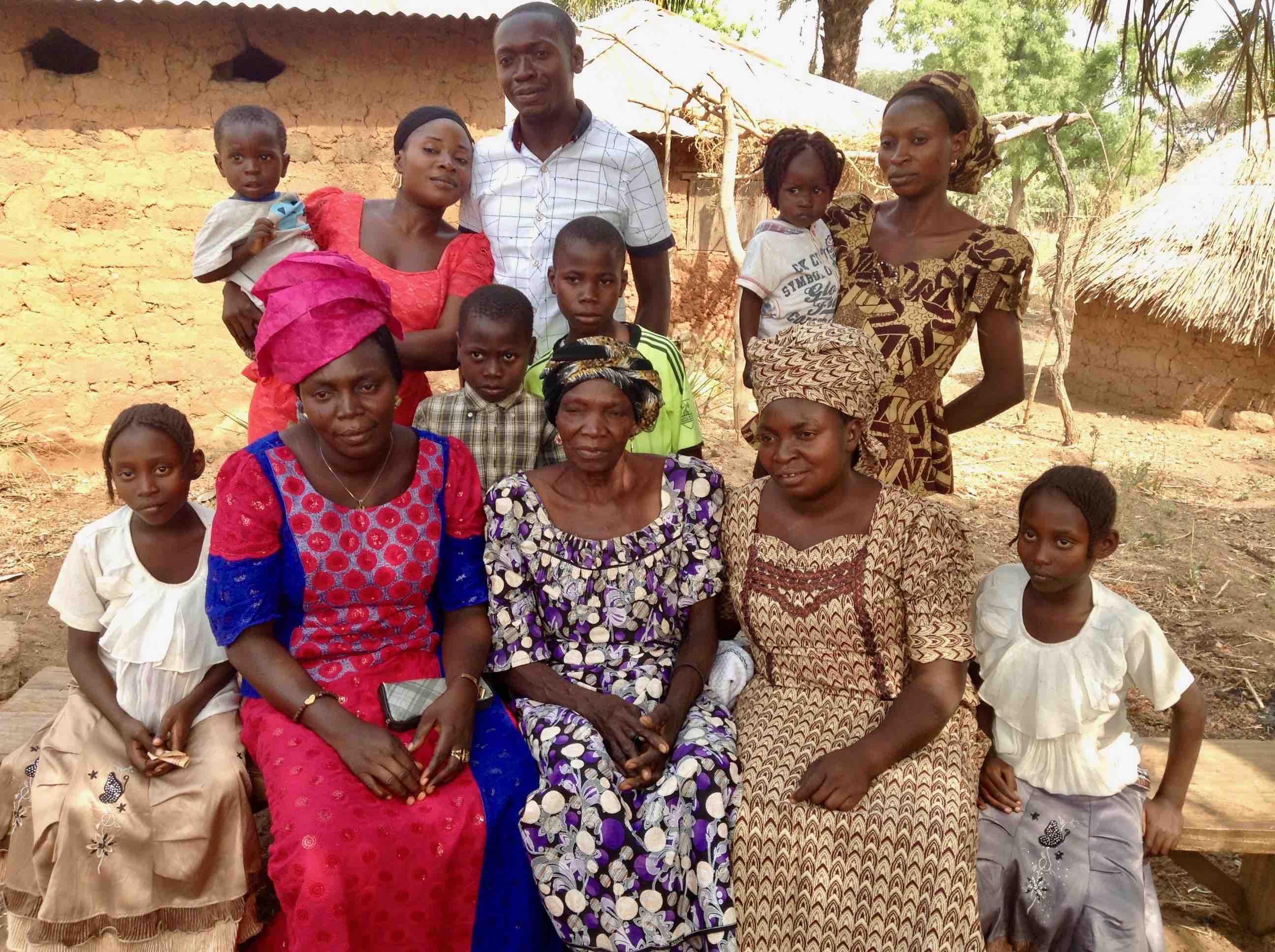 Eggon Family Portrait, Langa Langa Village, Nasarawa State, Nigeria. #JujuFilms