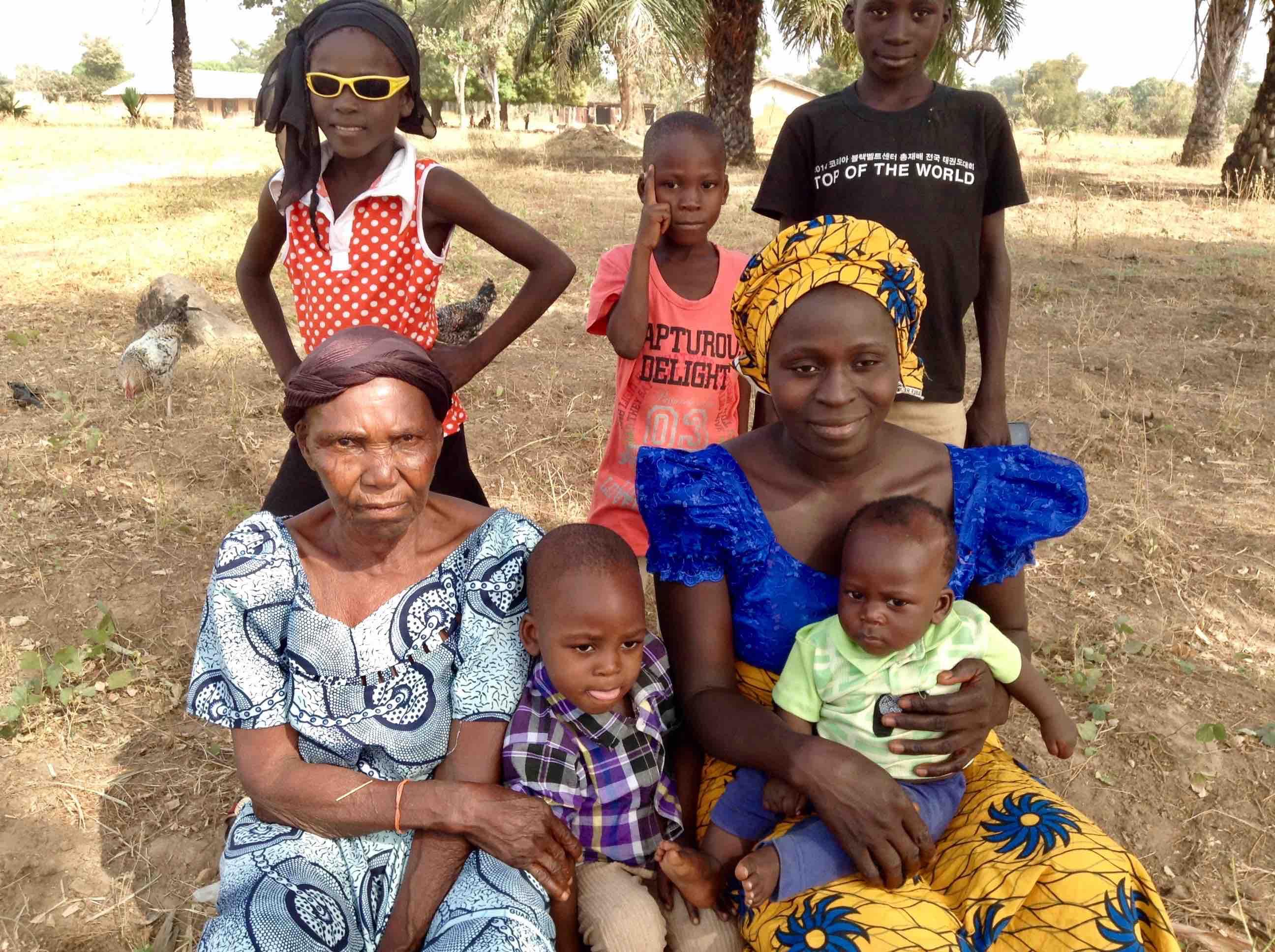 Eggon family in Langa Langa Village, Nasarawa State, Nigeria. #JujuFilms