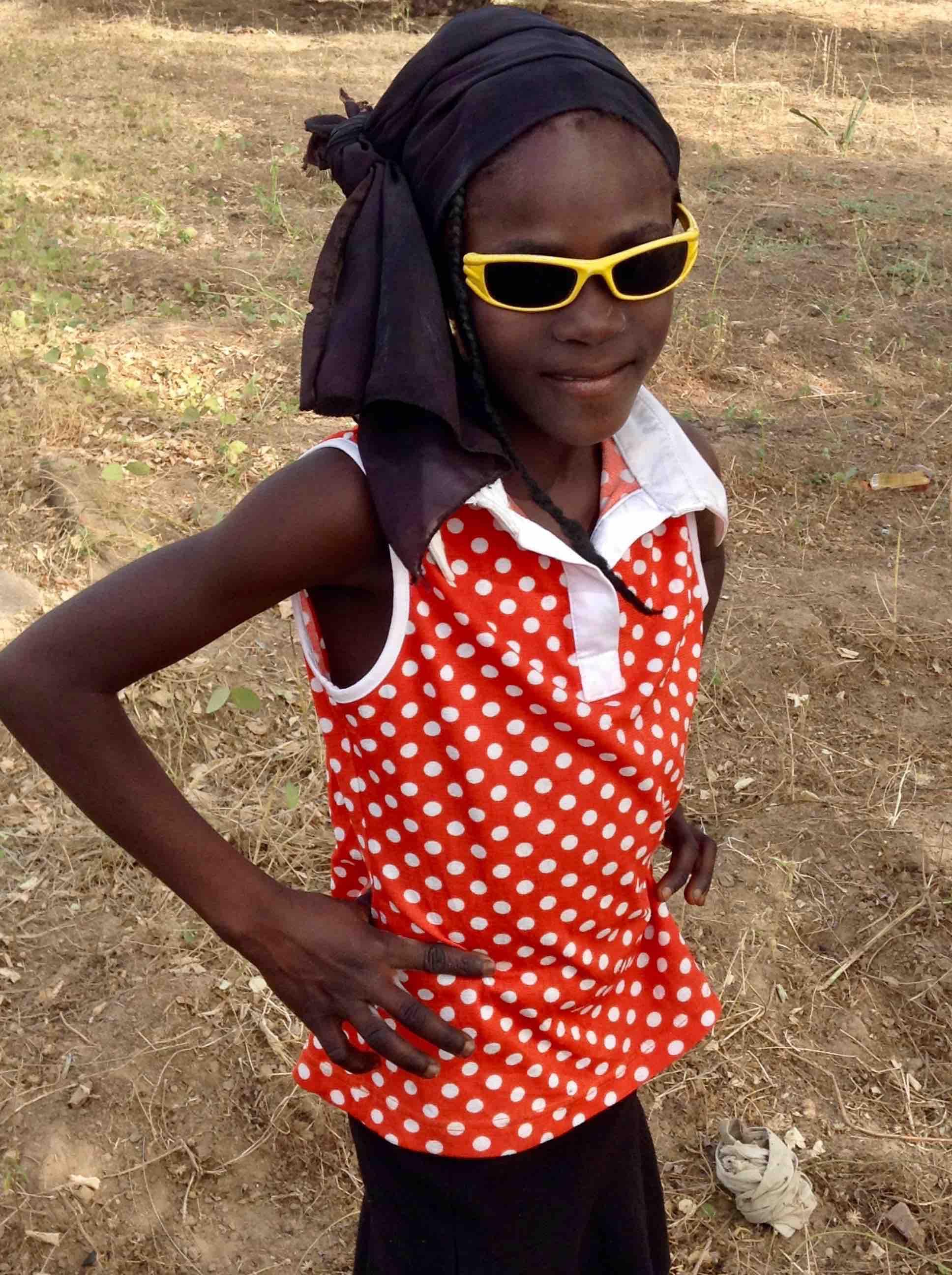 Eggon girl in Langa Langa Village, Nasarawa State, Nigeria. #JujuFilms