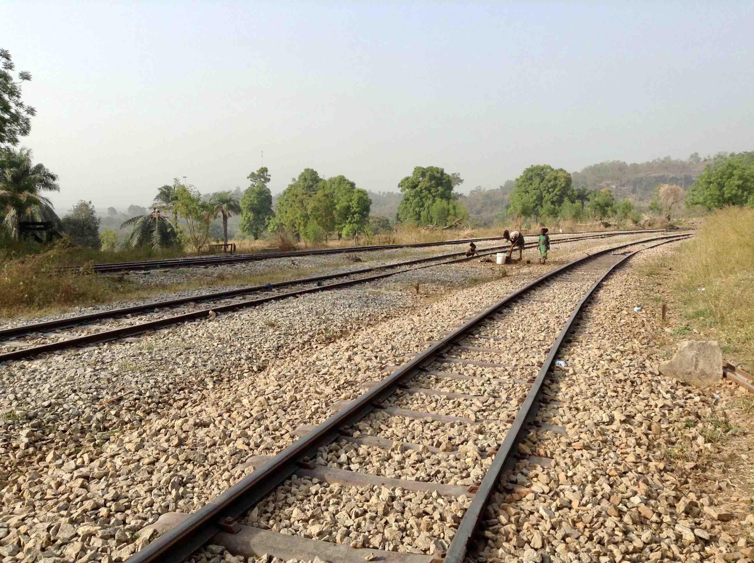 Nigerian Railways (Rail Tracks), Langa Langa, Nasarawa State, Nigeria. #JujuFilms