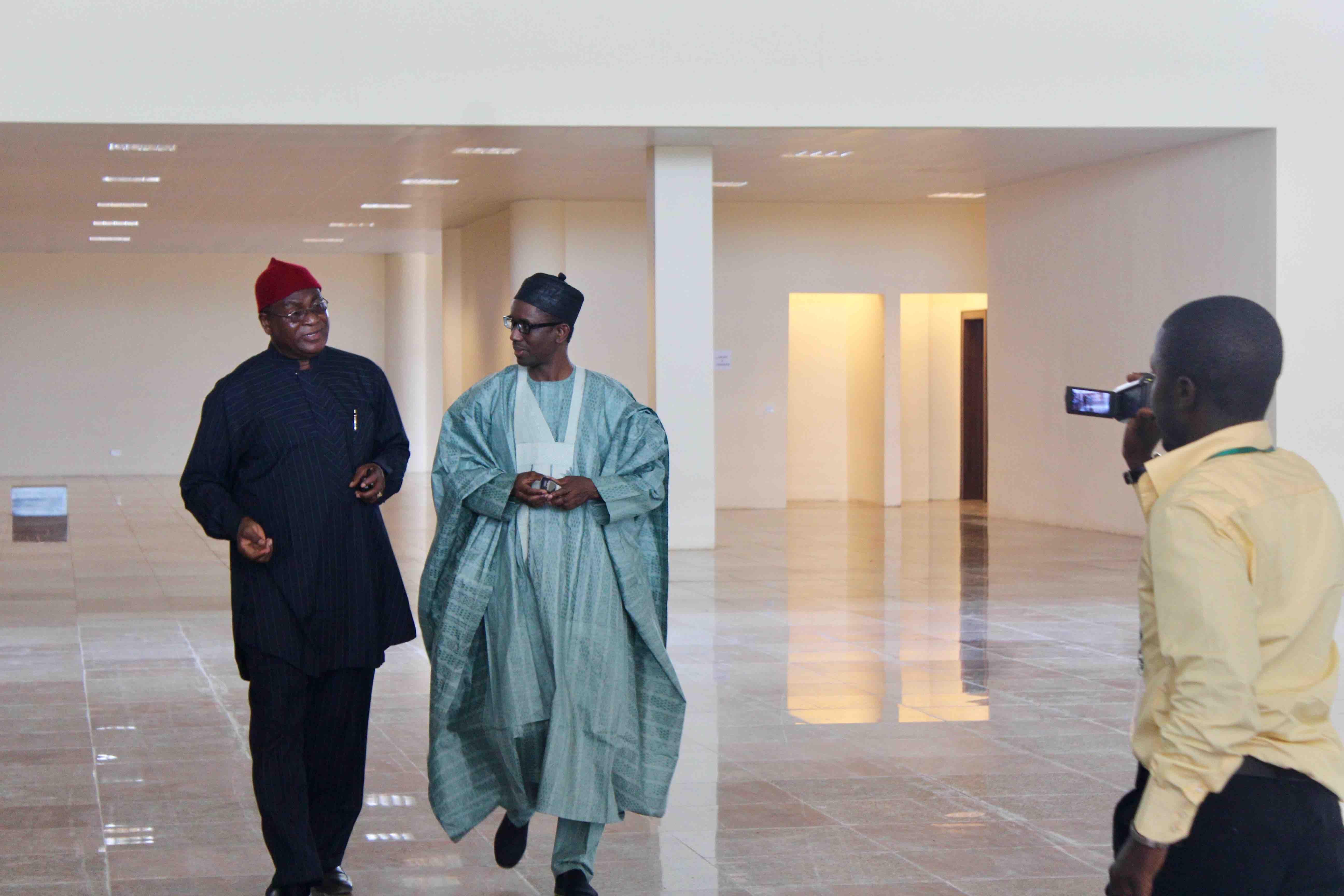 Dr. Sunny Ugochukwu and Mallam Nuhu Ribadu, Asaba International Airport, Asaba, Delta State, Nigeria. #JujuFilms