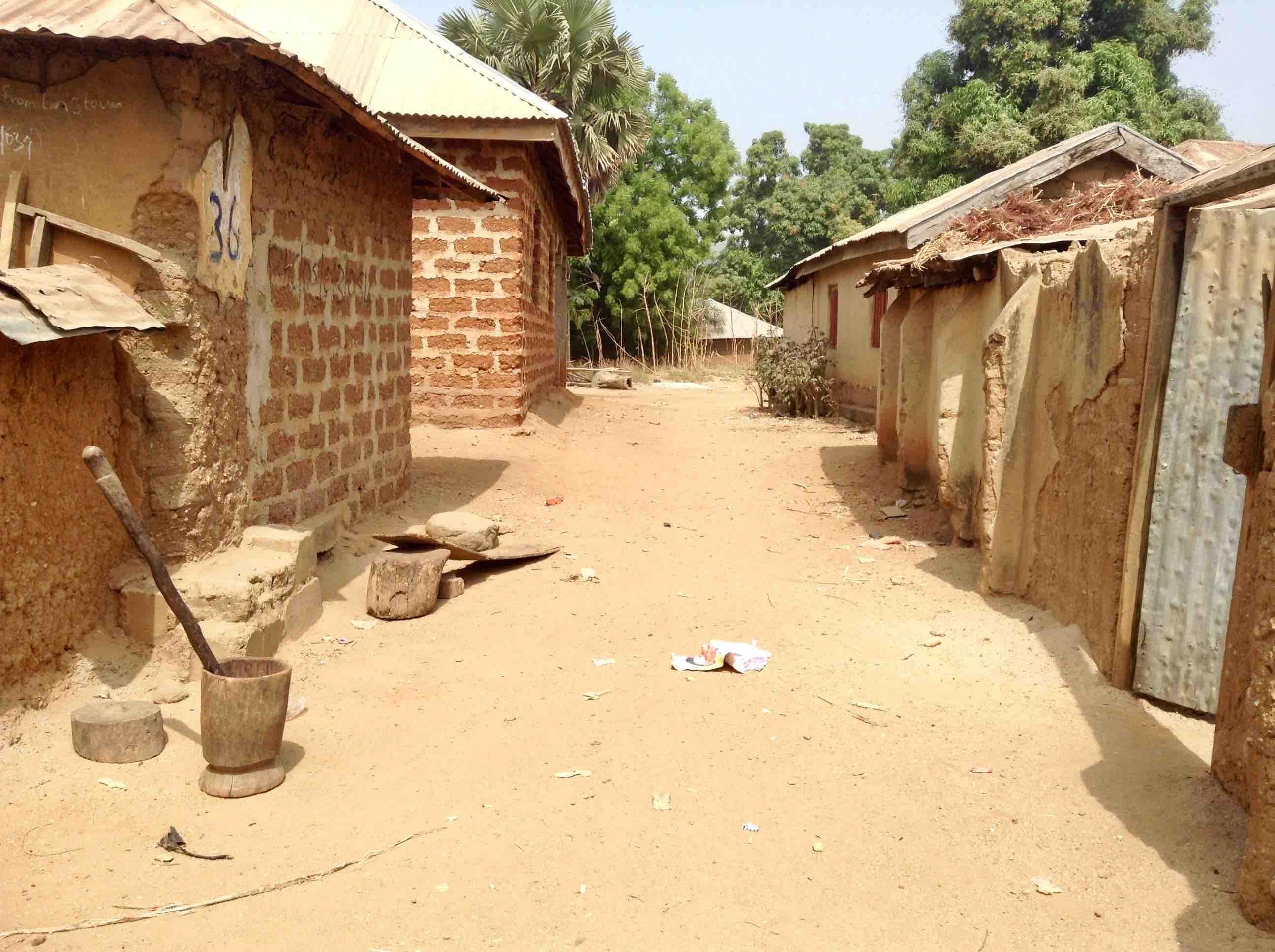 Mud huts in Langa Langa Village, Nasarawa State, Nigeria. #JujuFilms