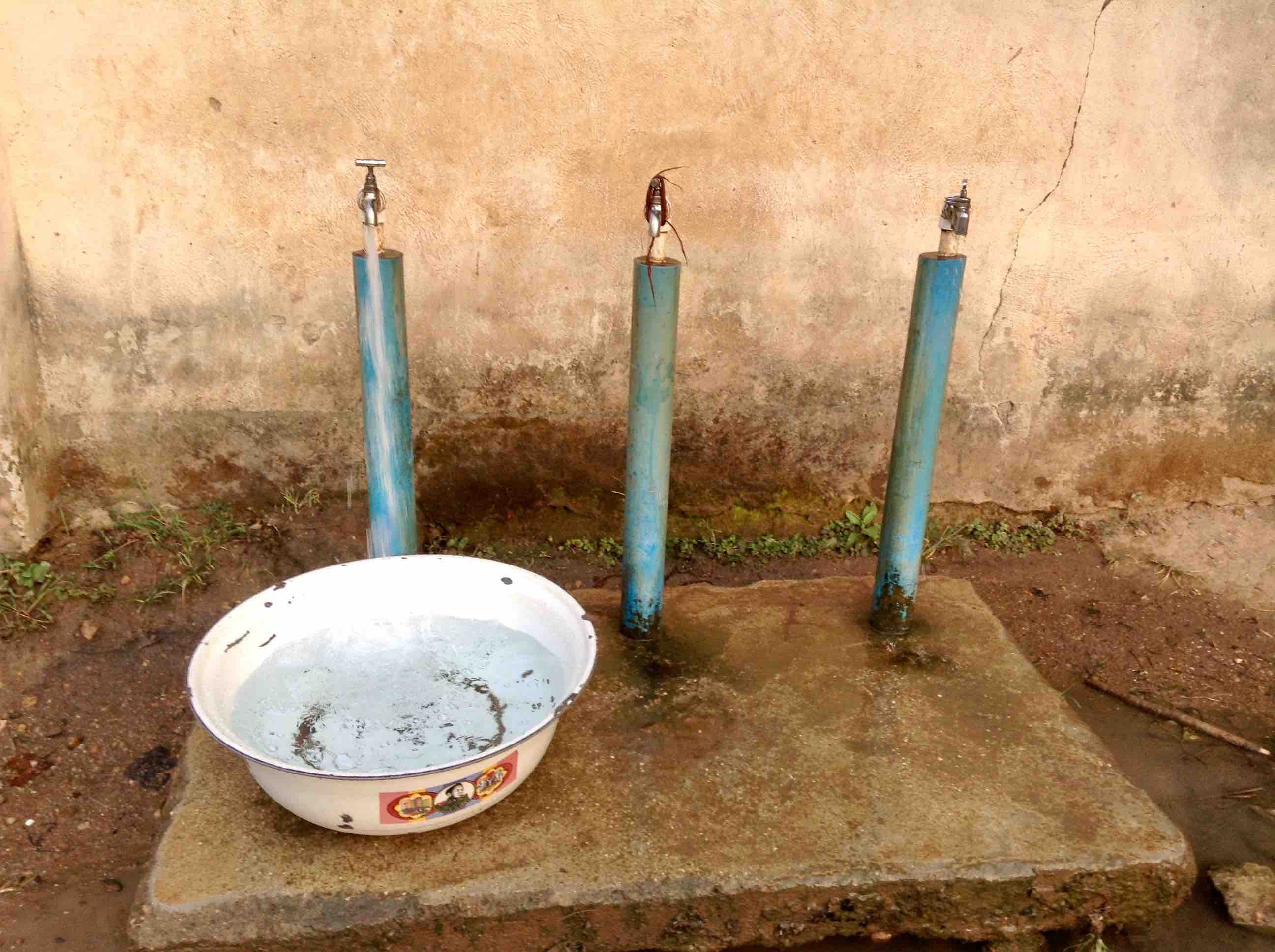 Public water in Langa Langa Village, Nasarawa State, Nigeria, #JujuFilms