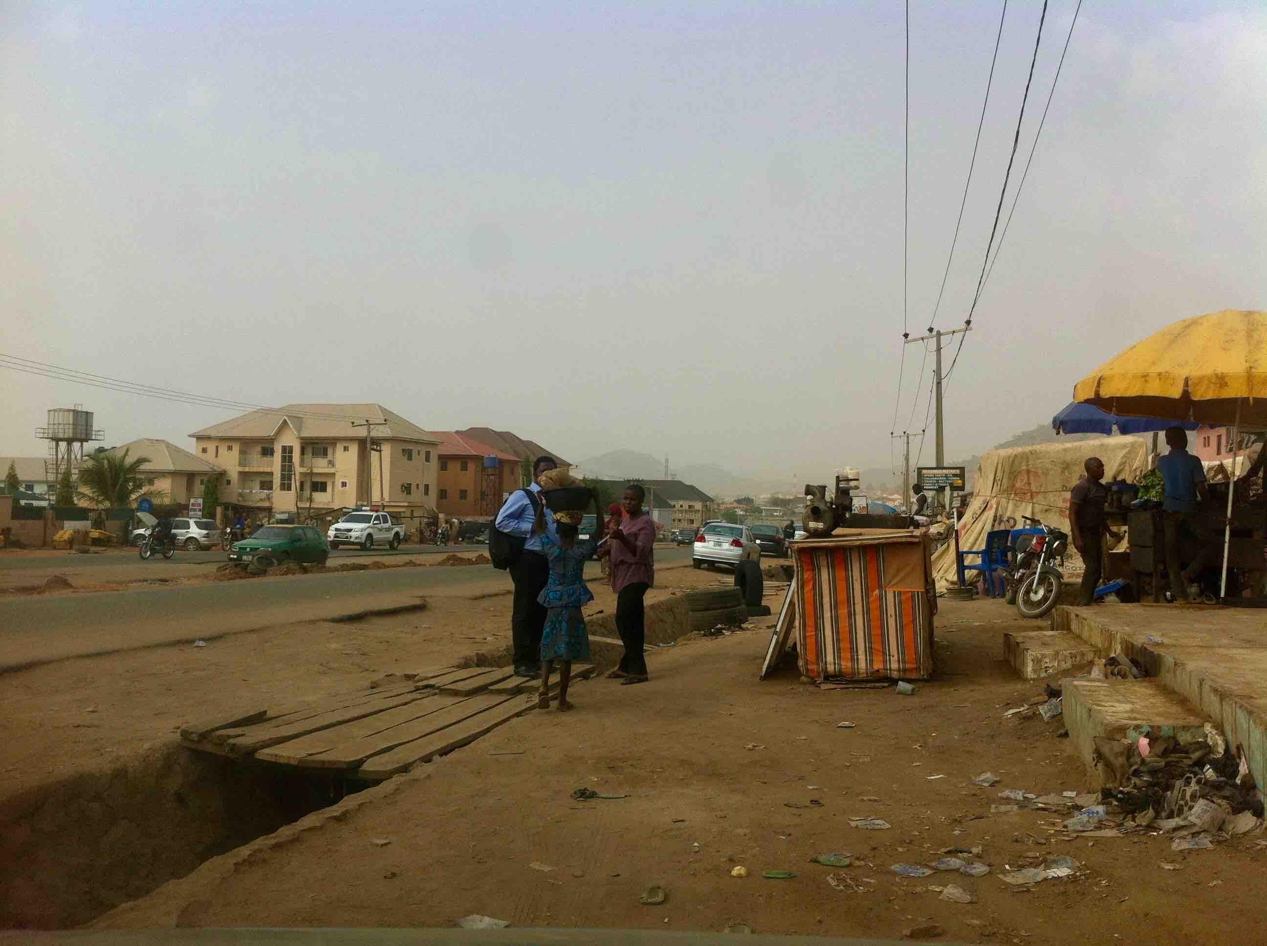 Street scene, Dutse, Abuja, Nigeria. #JujuFilms