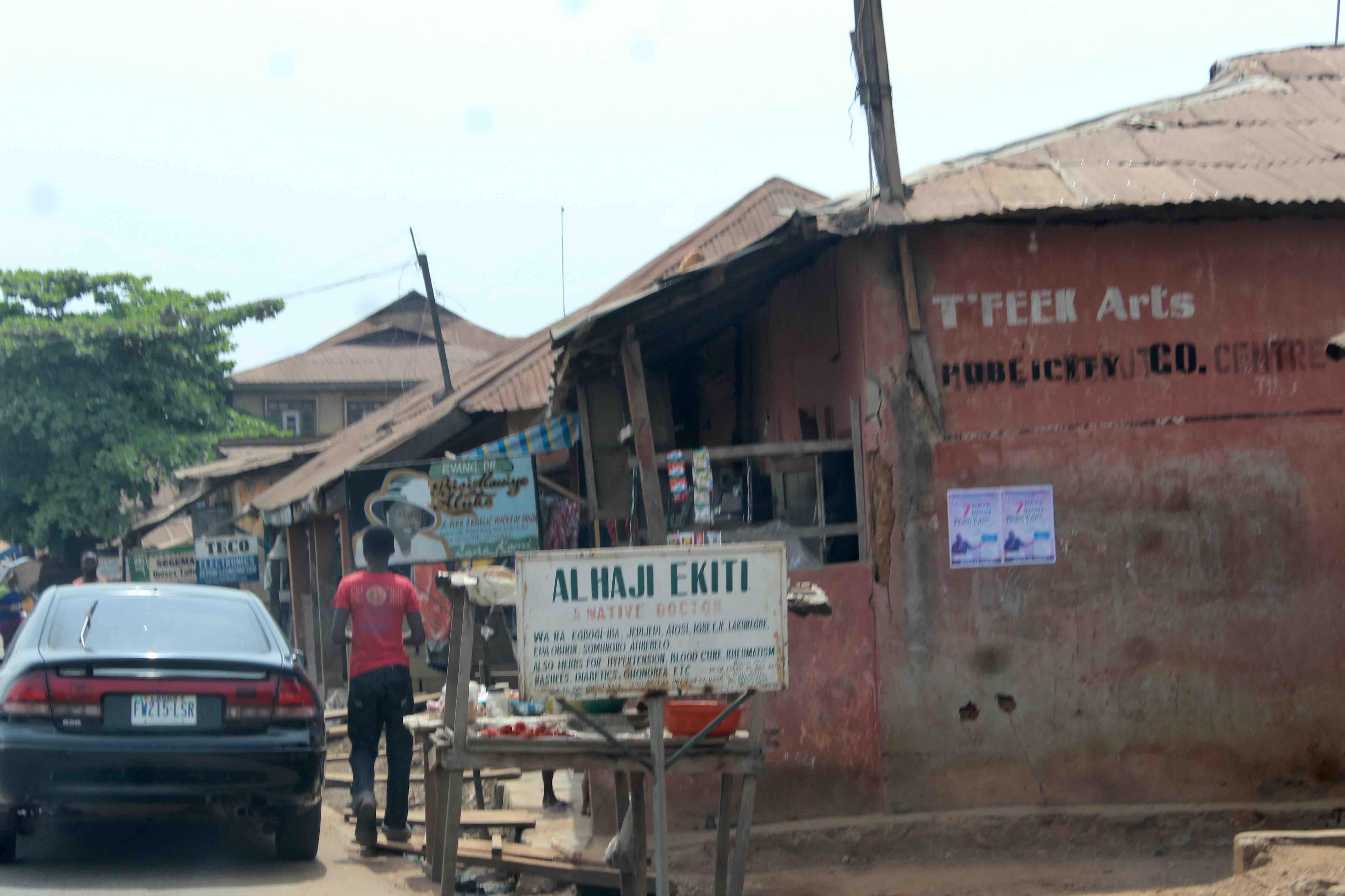 Alhaji Ekiti, Native Doctor, Ilesa, Osun State, Nigeria. #JujuFilms