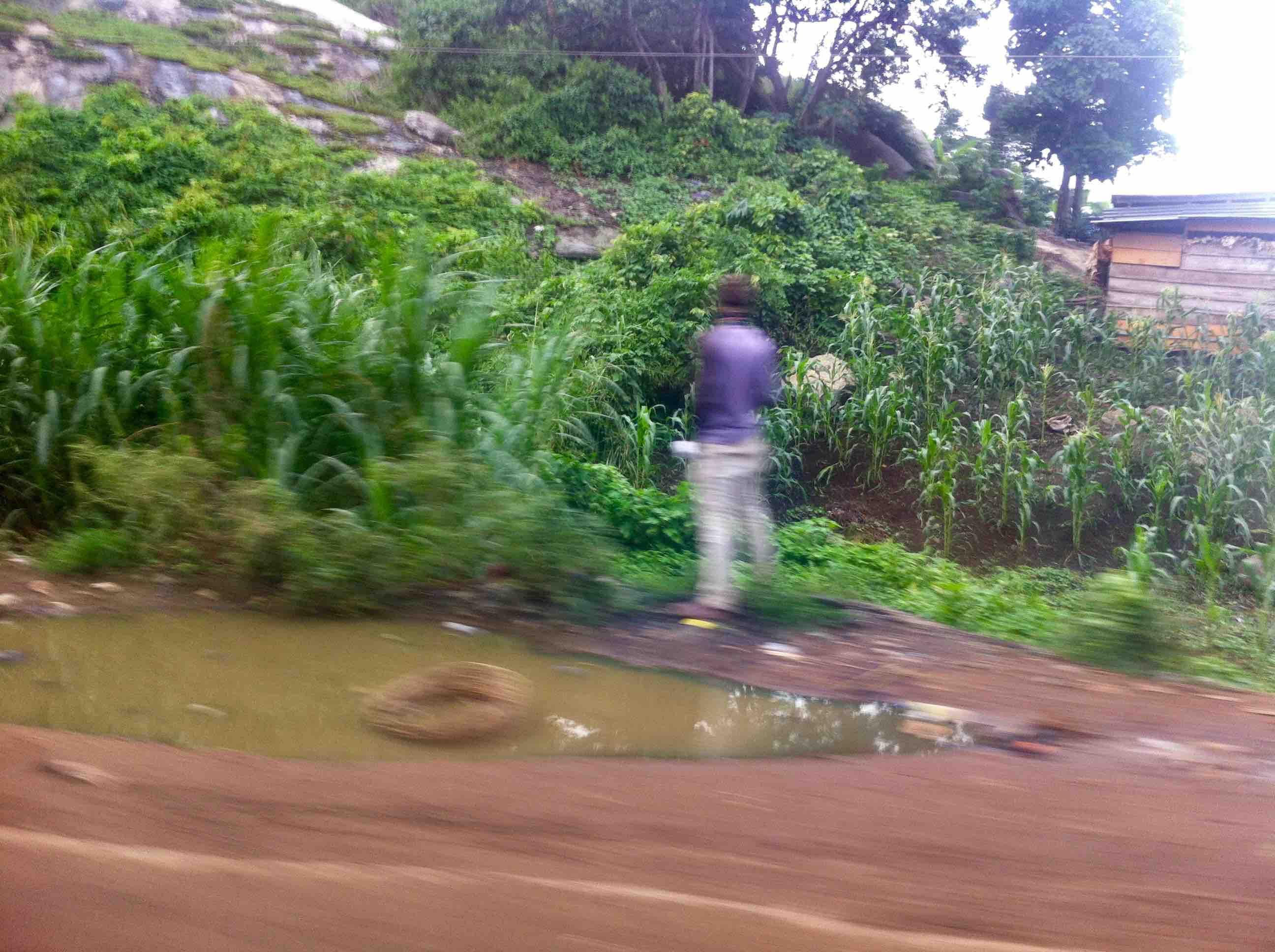Public urination, Akure, Ondo State, Nigeria. #JujuFilms