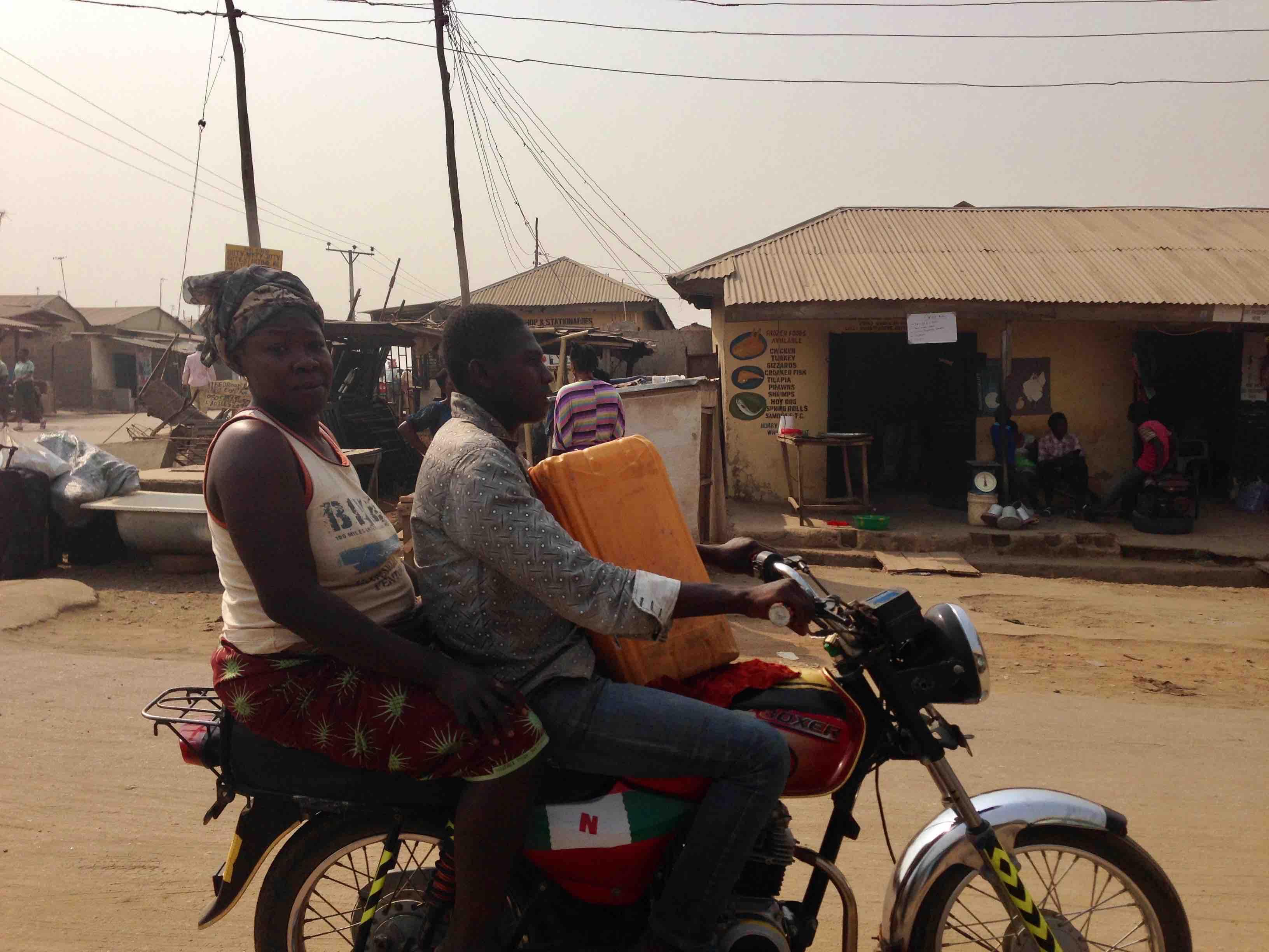 Motorcycling in Ushafa Village, Abuja, Nigeria. #JujuFilms