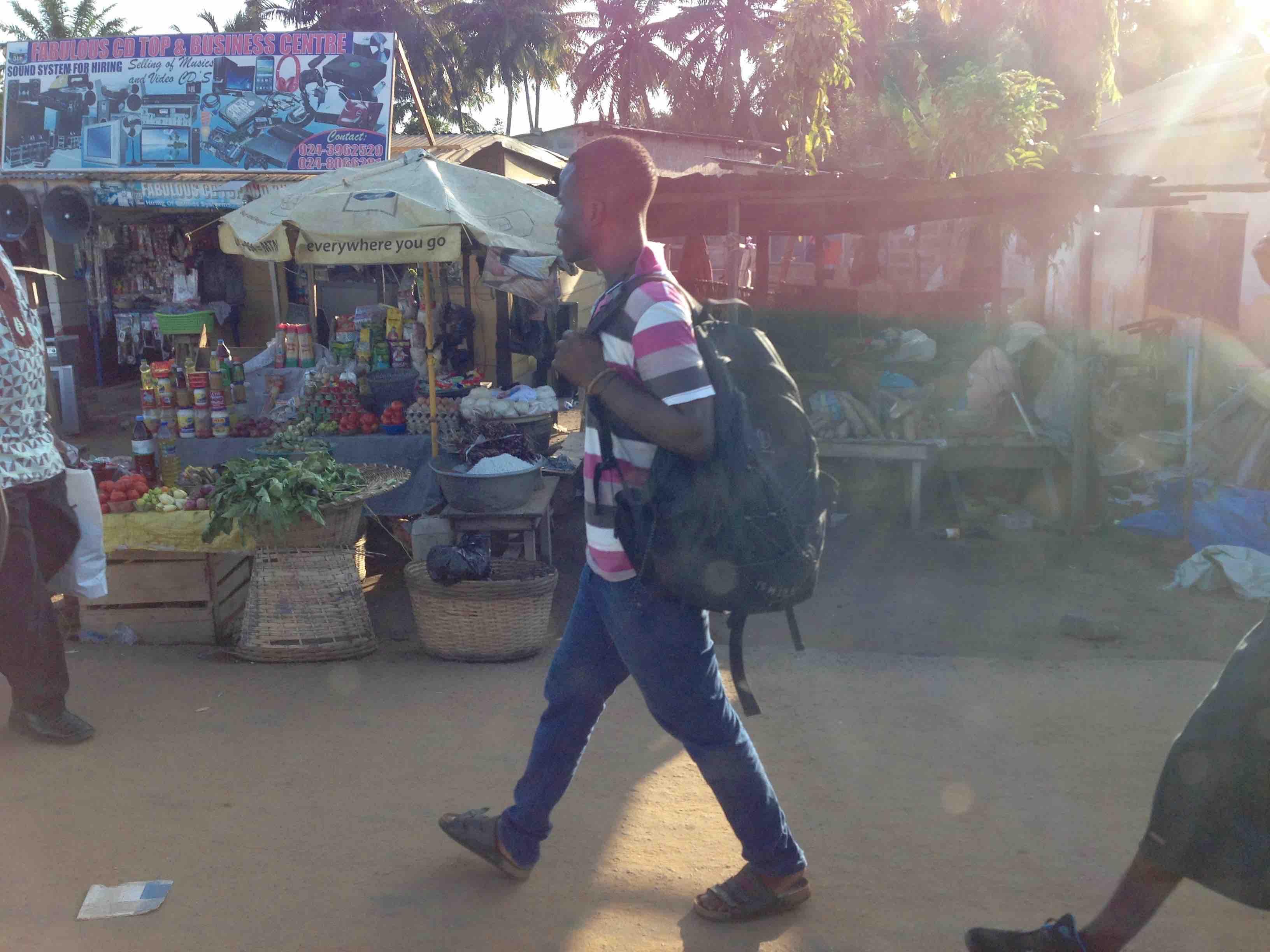 Street Market Scene, Denu, Volta, Ghana. #JujuFilms