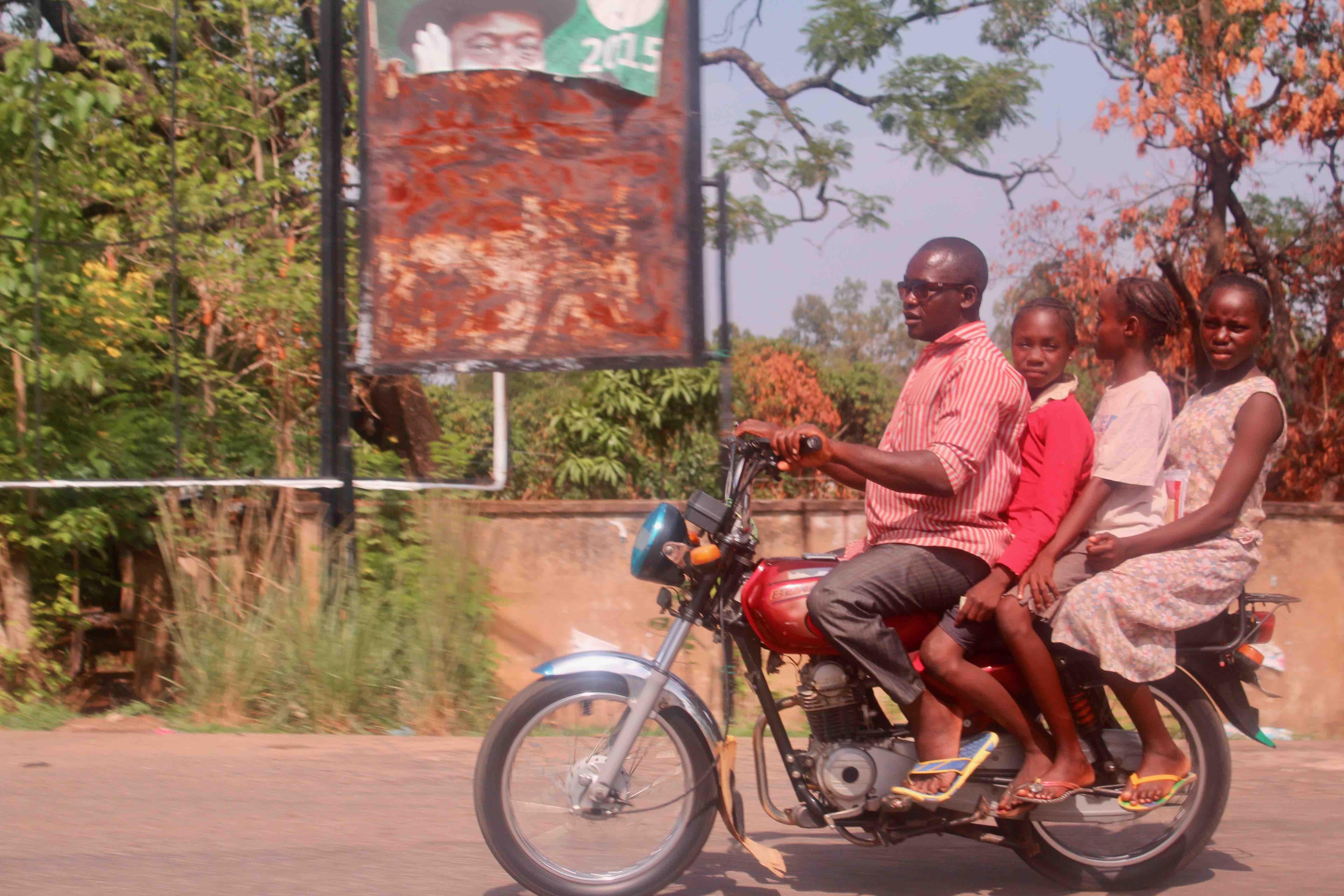 Motorcycling in Keffi, Nasarawa State, Nigeria. #JujuFilms