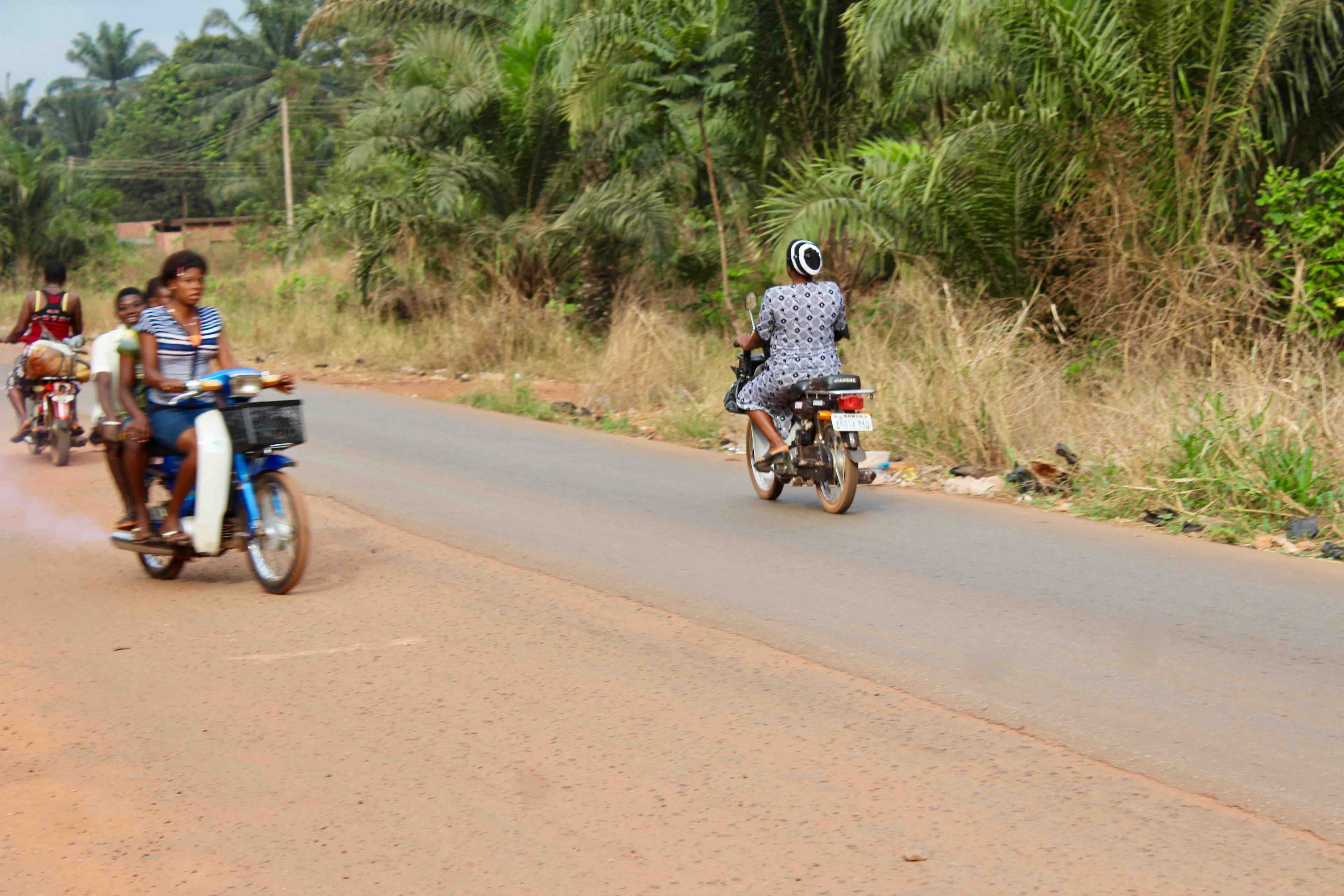 Igbo Women, Motorcycling, Obolo Village, Enugu State, Nigeria, #JujuFilms