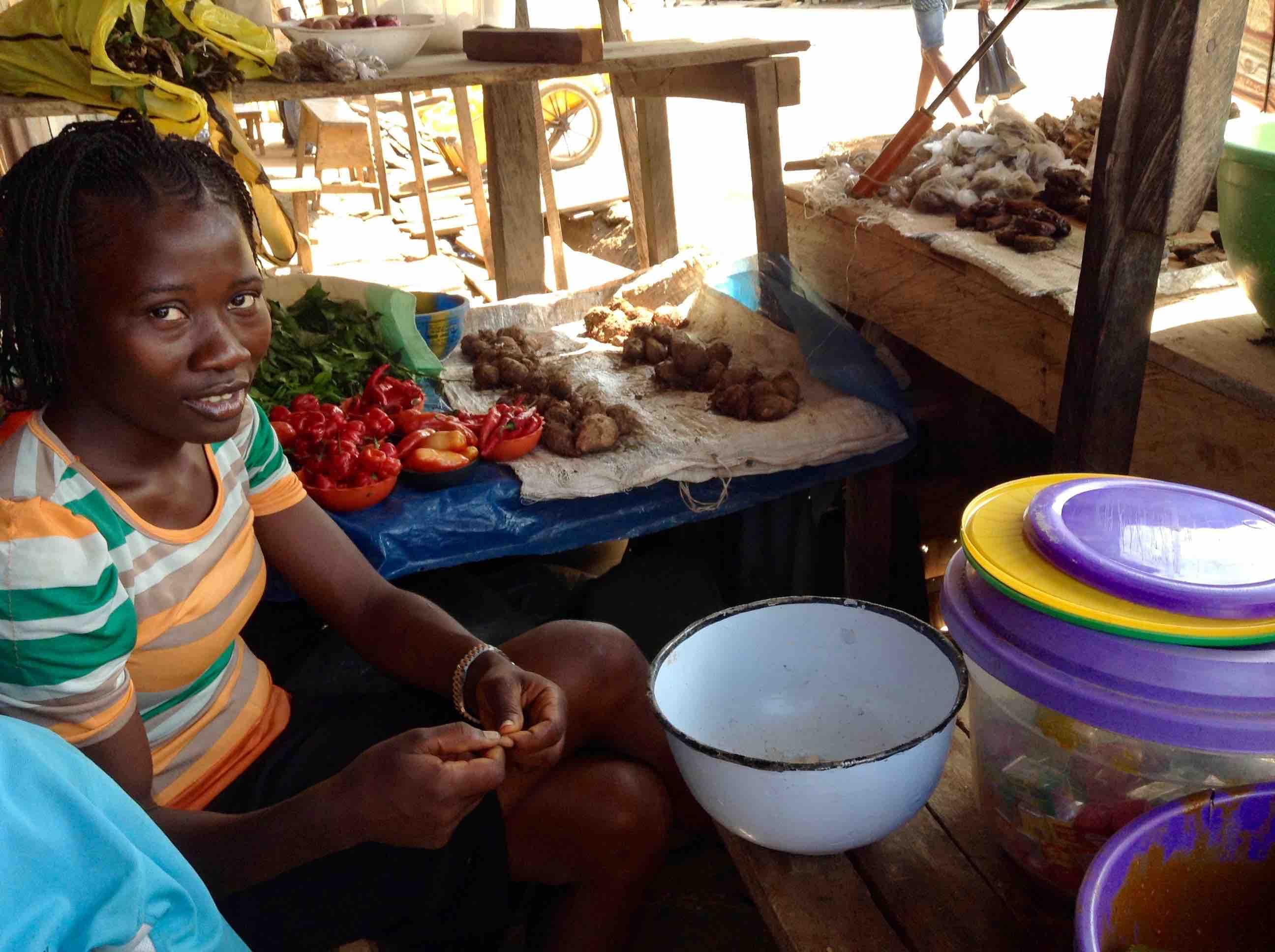 Food Market, Ushafa Village, Abuja, Nigeria. #JujuFilms