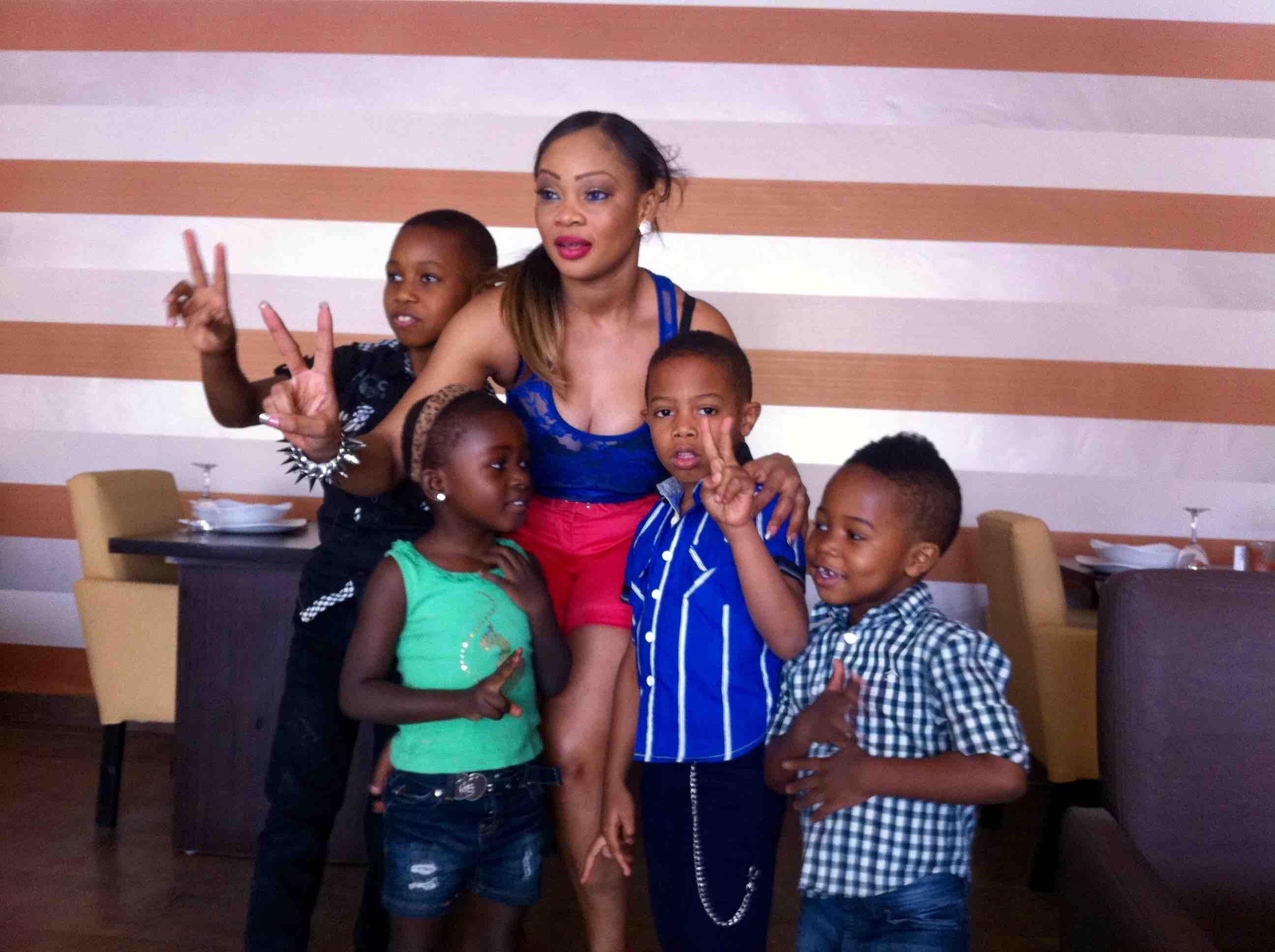 Ogodor and the children, Abuja, Nigeria. #JujuFilms